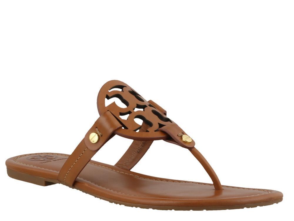 382cadda7 Lyst - Tory Burch Miller Sandals in Brown