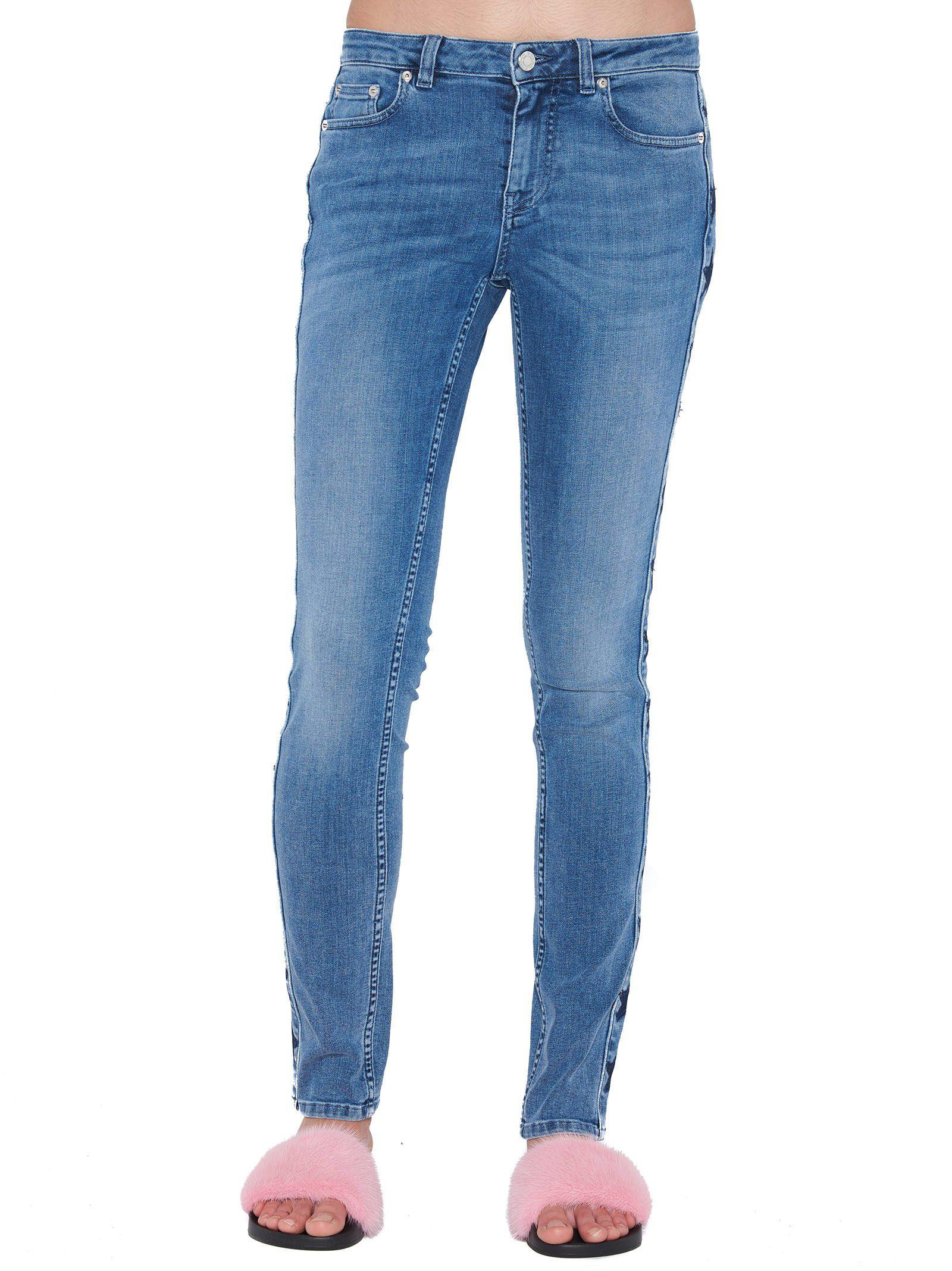 Skinny jeans with star panels Givenchy uhcH6lPIe5