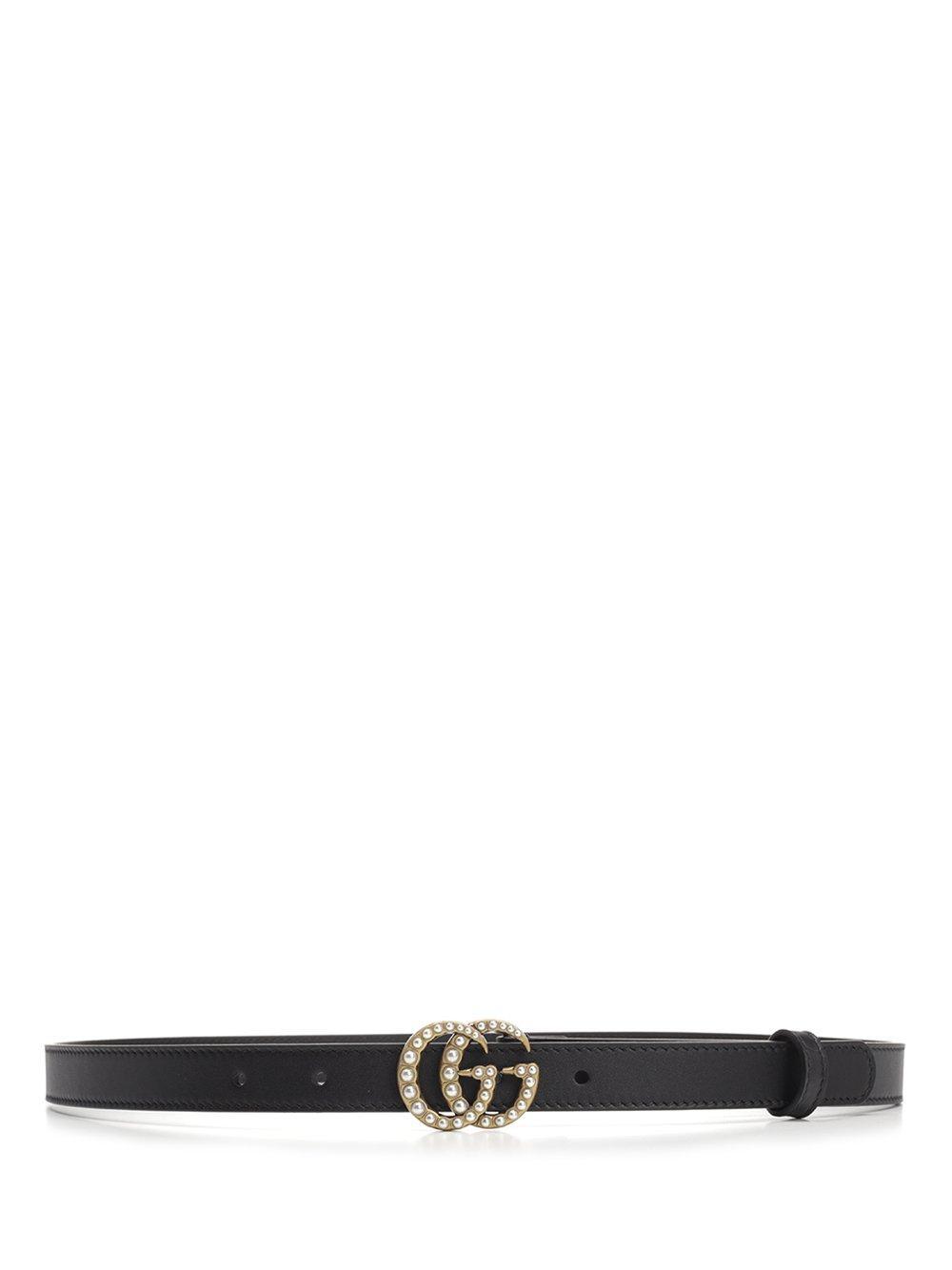 b40592c839fe Lyst - Gucci GG Marmont Belt in Black
