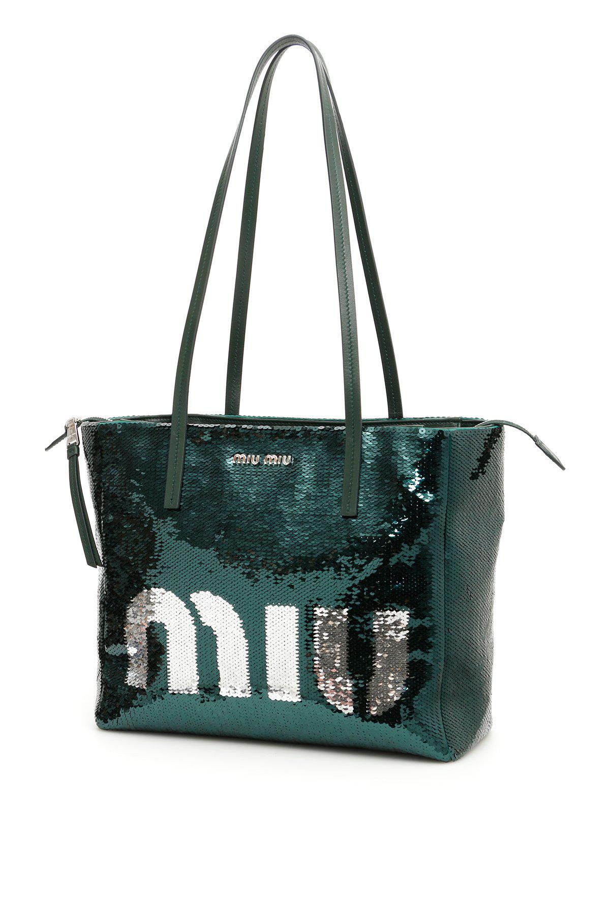 Miu Miu Crossbody Bags Women in Green - Save 18.712871287128706% - Lyst 360f502fa0b1f