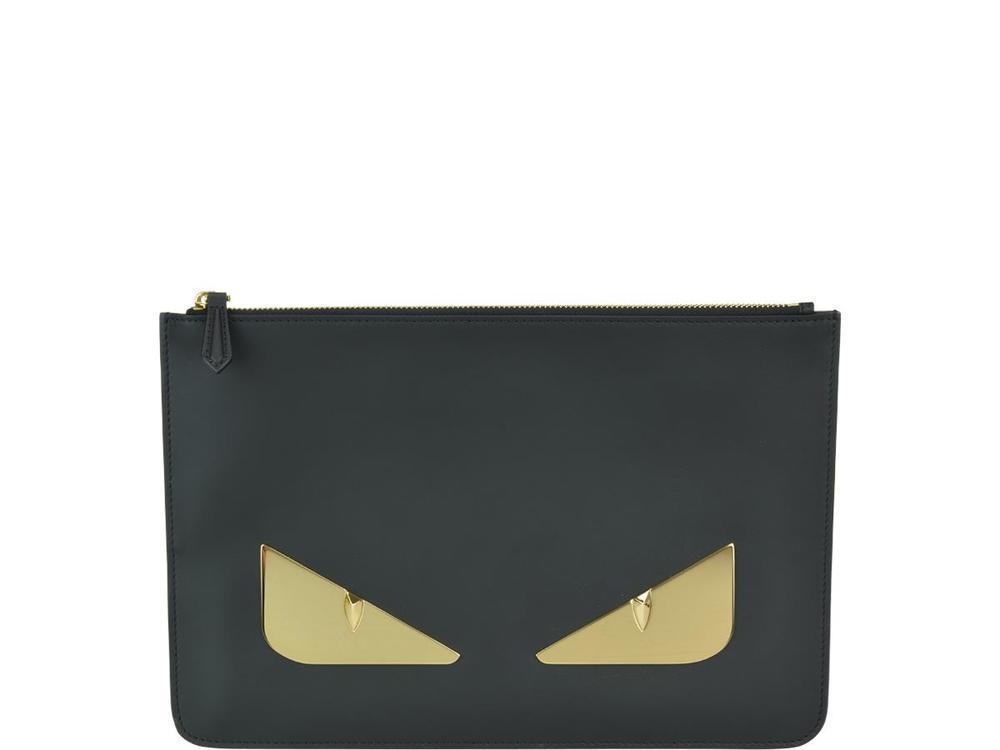 Lyst - Fendi Bag Bugs Clutch Bags in Metallic 5799e49b902e8