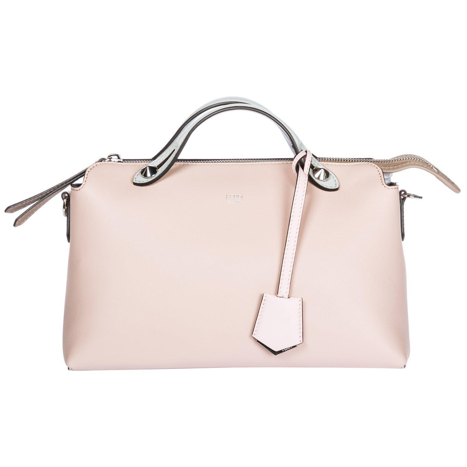 Lyst - Fendi By The Way Boston Bag in Pink 20b32ea8594fe