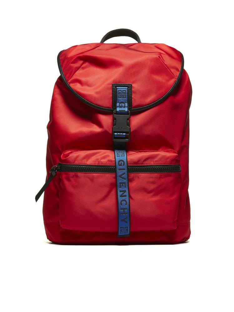 1e746332bc Givenchy - Red Light 3 Logo Backpack - Lyst. View fullscreen