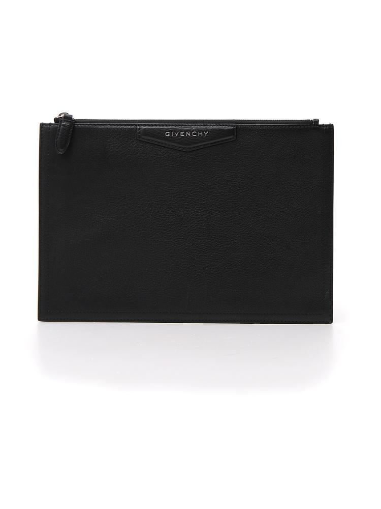 5d986deb8d Givenchy - Black Antigona Clutch Bag - Lyst. View fullscreen