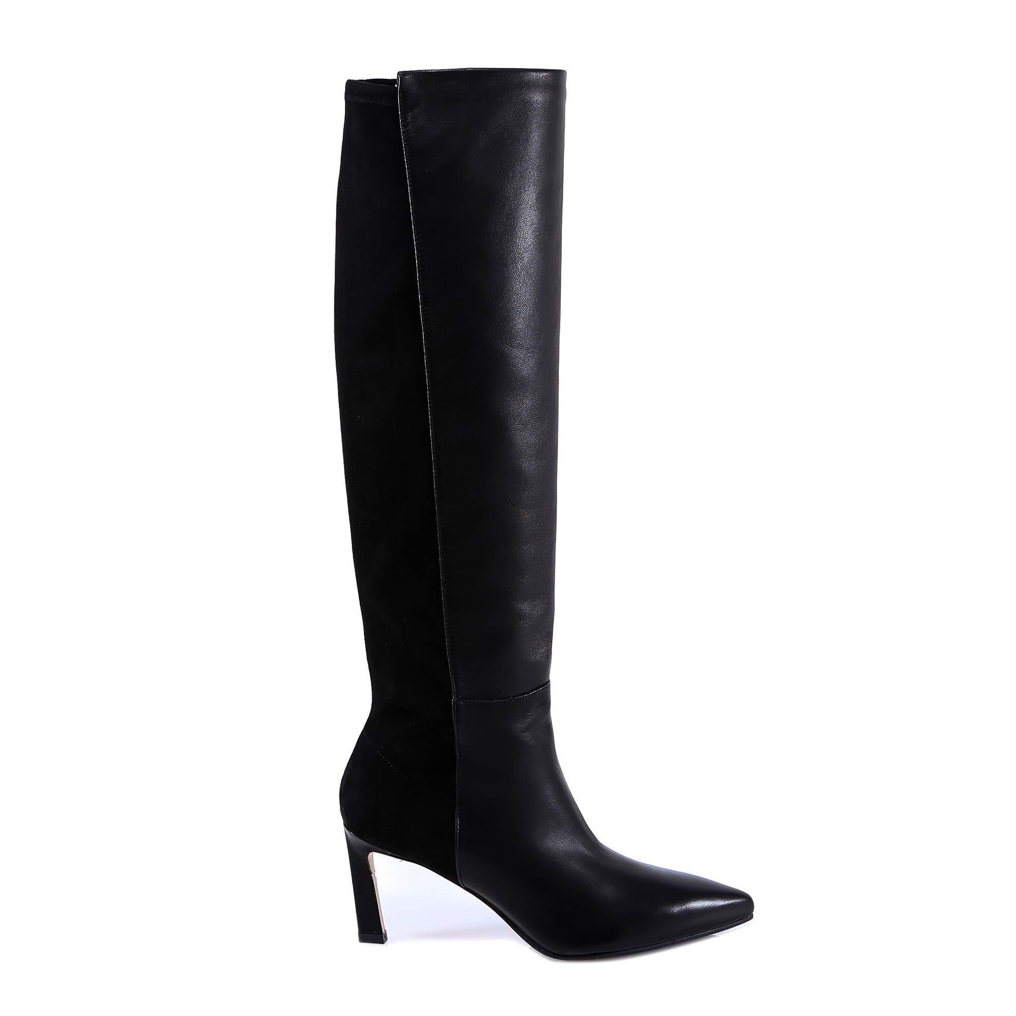 28270f7f7 Lyst - Stuart Weitzman Demi 75 Boots in Black for Men