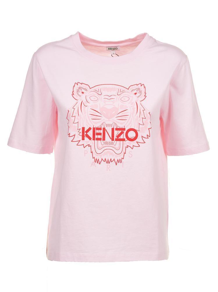 2f9d60006094 KENZO - Pink Tiger T-shirt - Lyst. View fullscreen