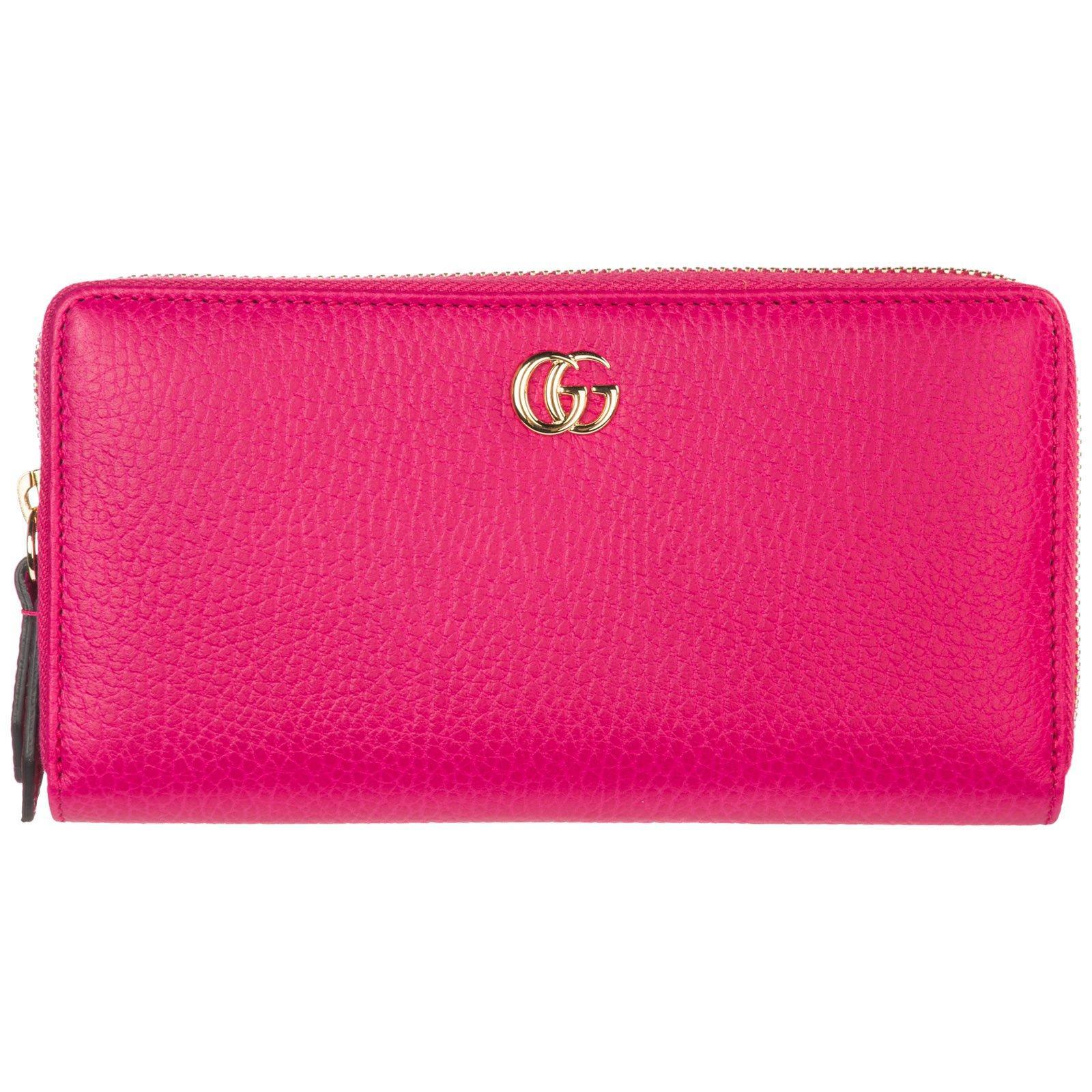 a967c29ef066 Lyst - Gucci Zip Around Wallet in Pink