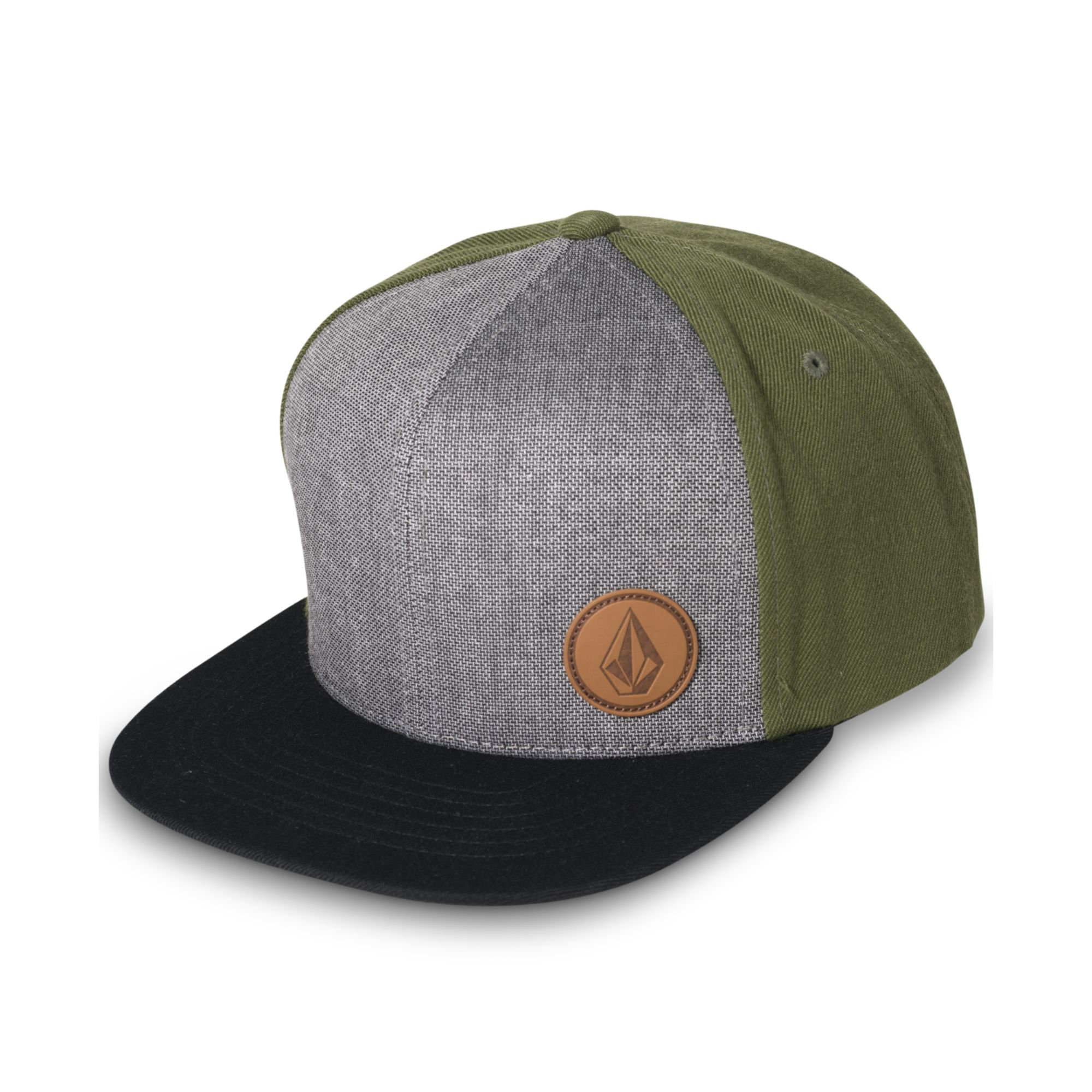 c0e9509a4ad ... sweden lyst volcom upper corner stone snapback hat in green for men  f2a63 a6990