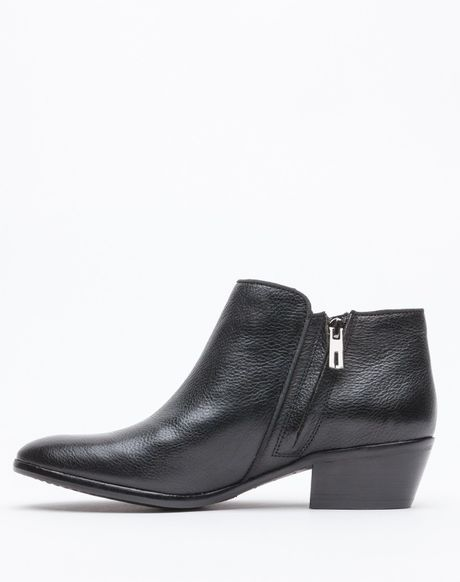 sam edelman petty in black leather in black lyst