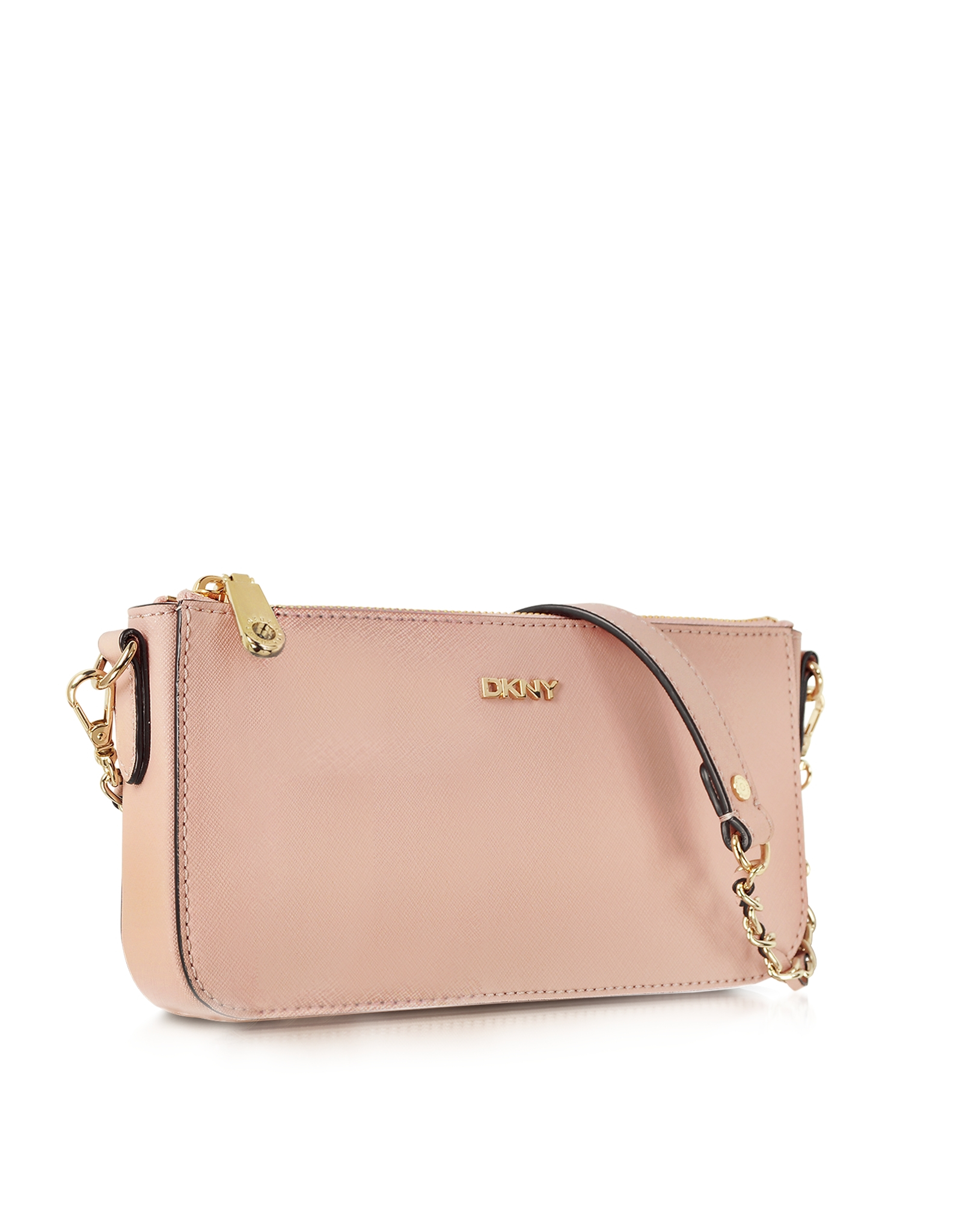 Dkny Bryant Park Blush Saffiano Leather Crossbody Bag in Pink | Lyst