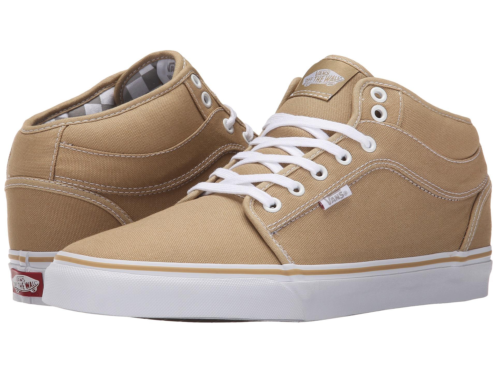 b9fbb3ed4626ec Lyst - Vans Chukka Mid Top in Brown for Men