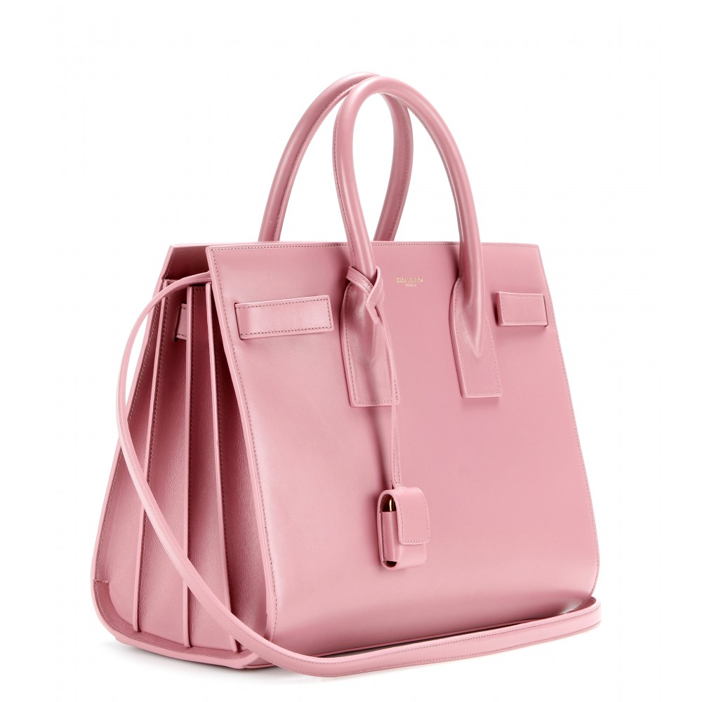 yves saint laurent sale bags - sac de jour mini grained bonded leather satchel bag, rose