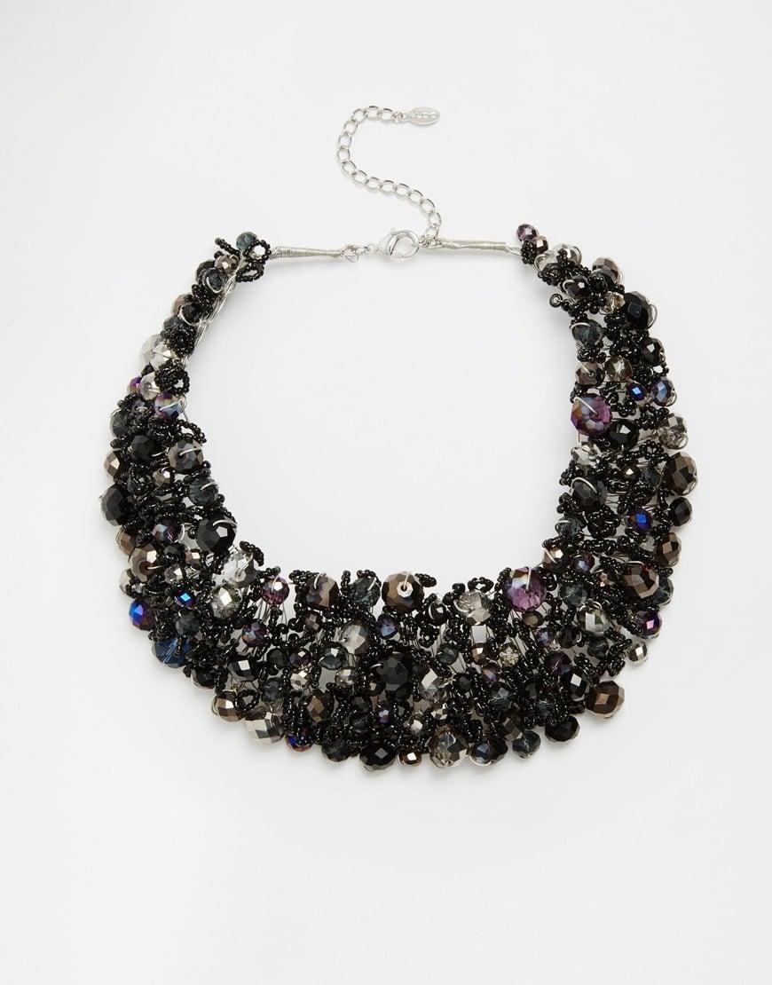 Lyst Aldo Roccoa Statement Collar Necklace In Black