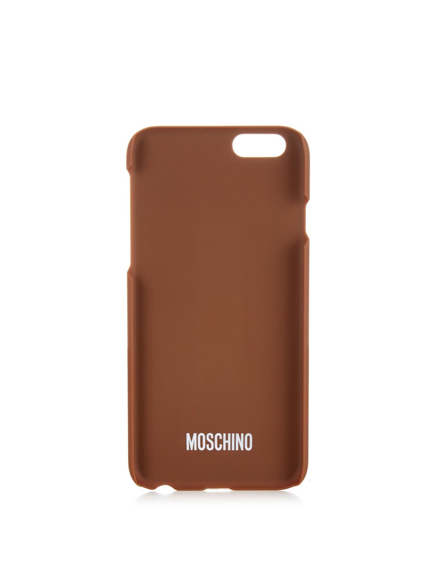 Moschino Iphone Case Teddy