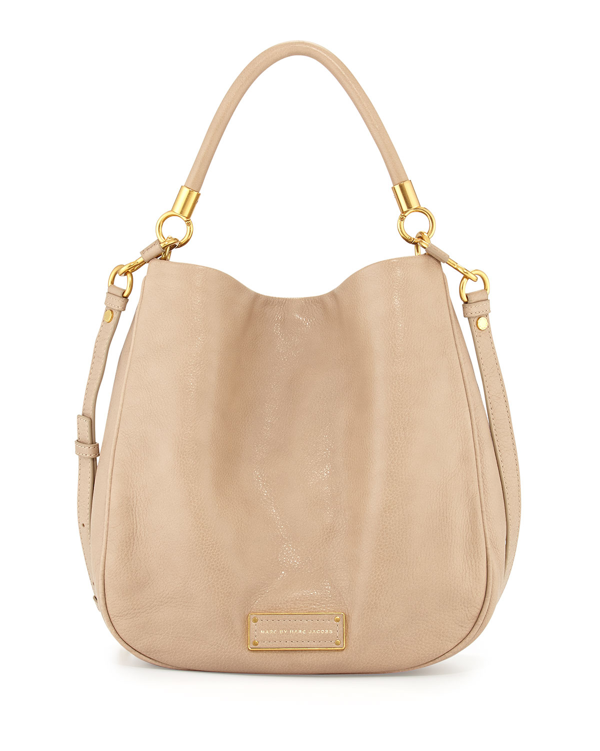 marc by marc jacobs too hot to handle hobo bag in brown tracker tan lyst. Black Bedroom Furniture Sets. Home Design Ideas