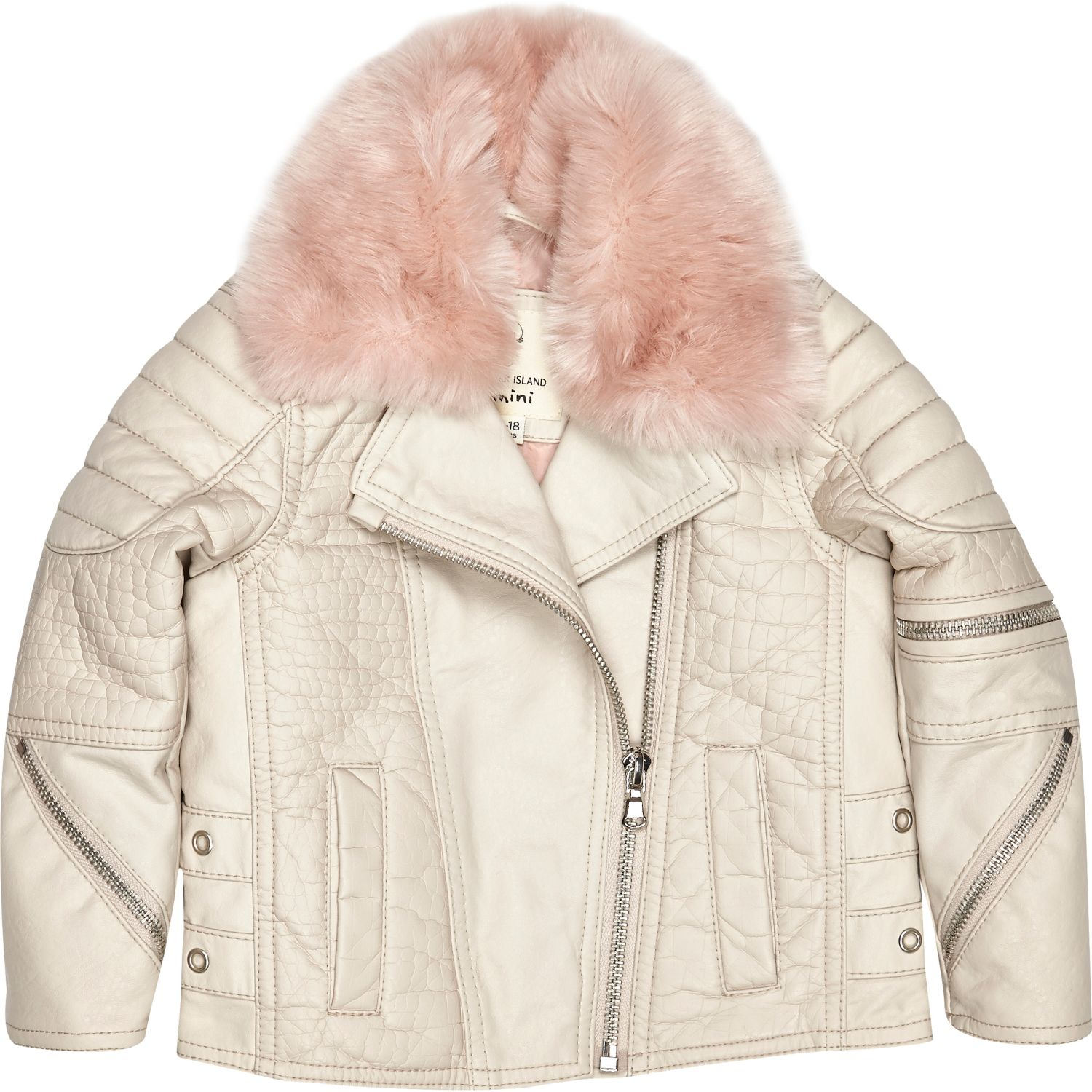 9d26a5b8e Baby Girl Leather Jacket With Fur - Cairoamani.com