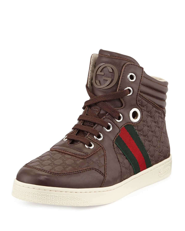 Ace high-top sneaker - Gucci Men's Sneakers 501803DOPE09095