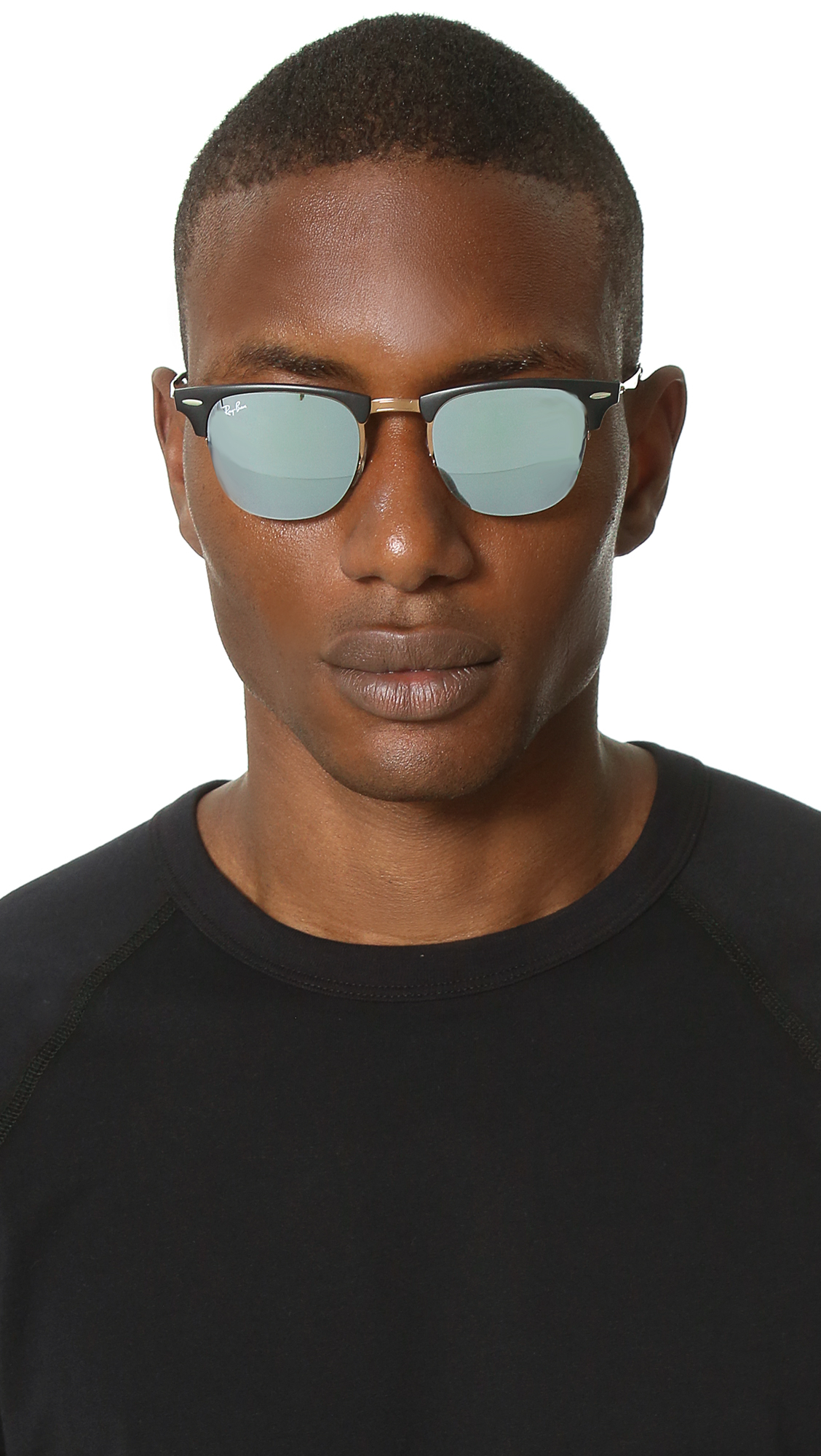 ray ban aviator silber flash
