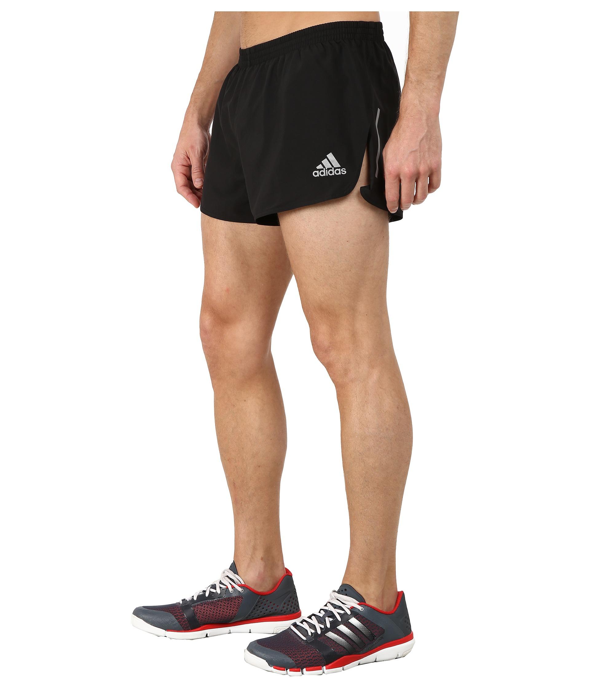 Lyst Adidas Sequencials Split Shorts In Black For Men