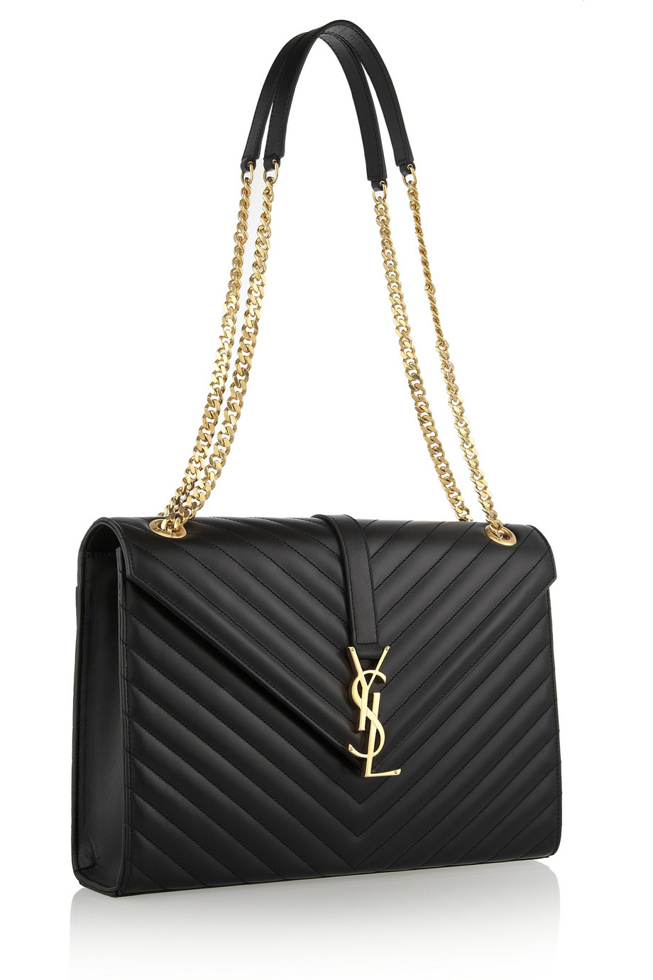 Saint Laurent Women S Monogram Medium Shoulder Bag In