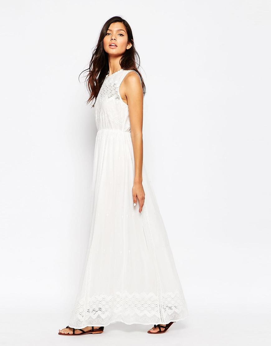 728481dfb Turmec » sleeveless eyelet maxi dress
