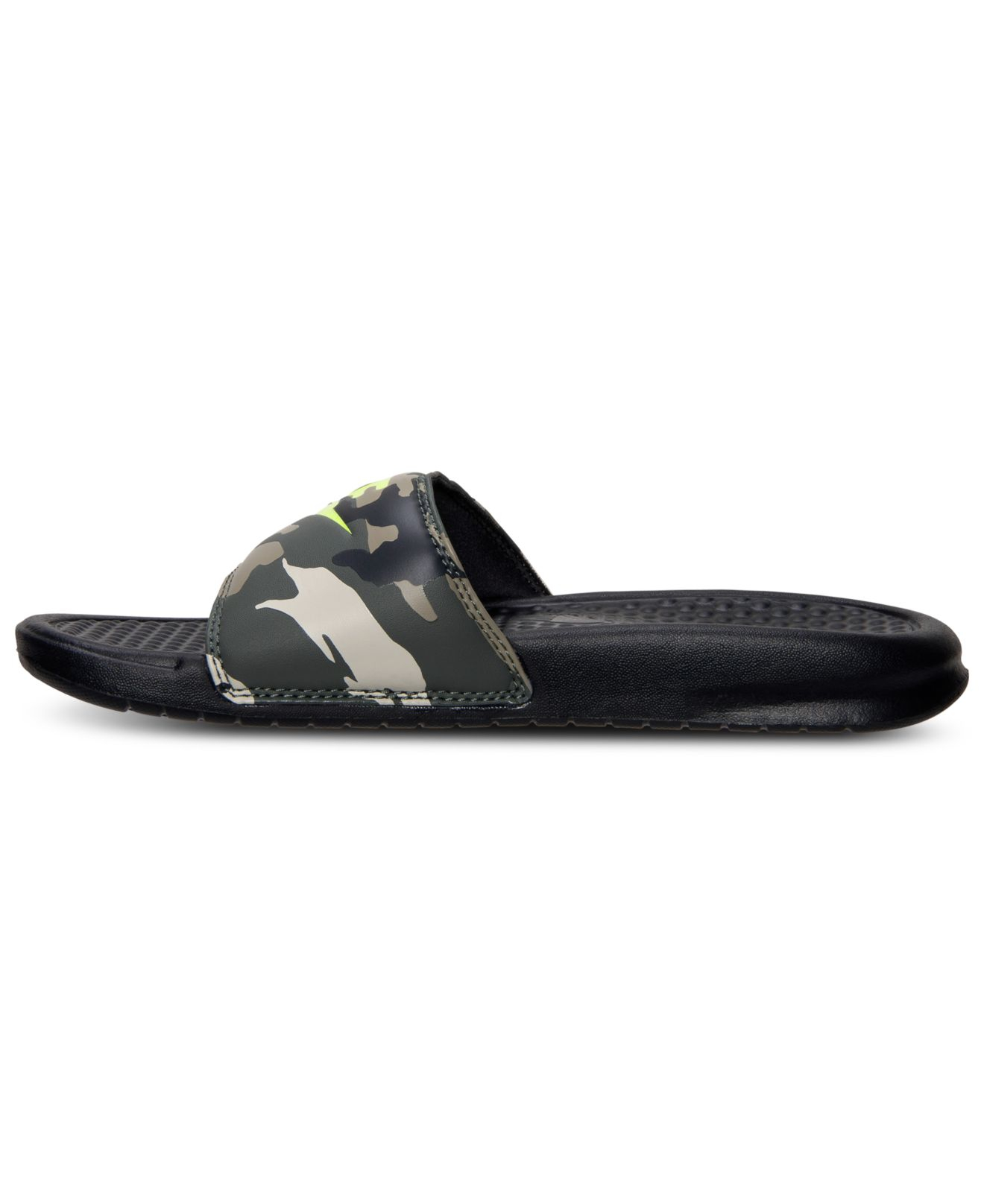01ff9cdee87b4 Lyst - Nike Men S Benassi Jdi Print Slide Sandals From Finish Line in Brown  for Men