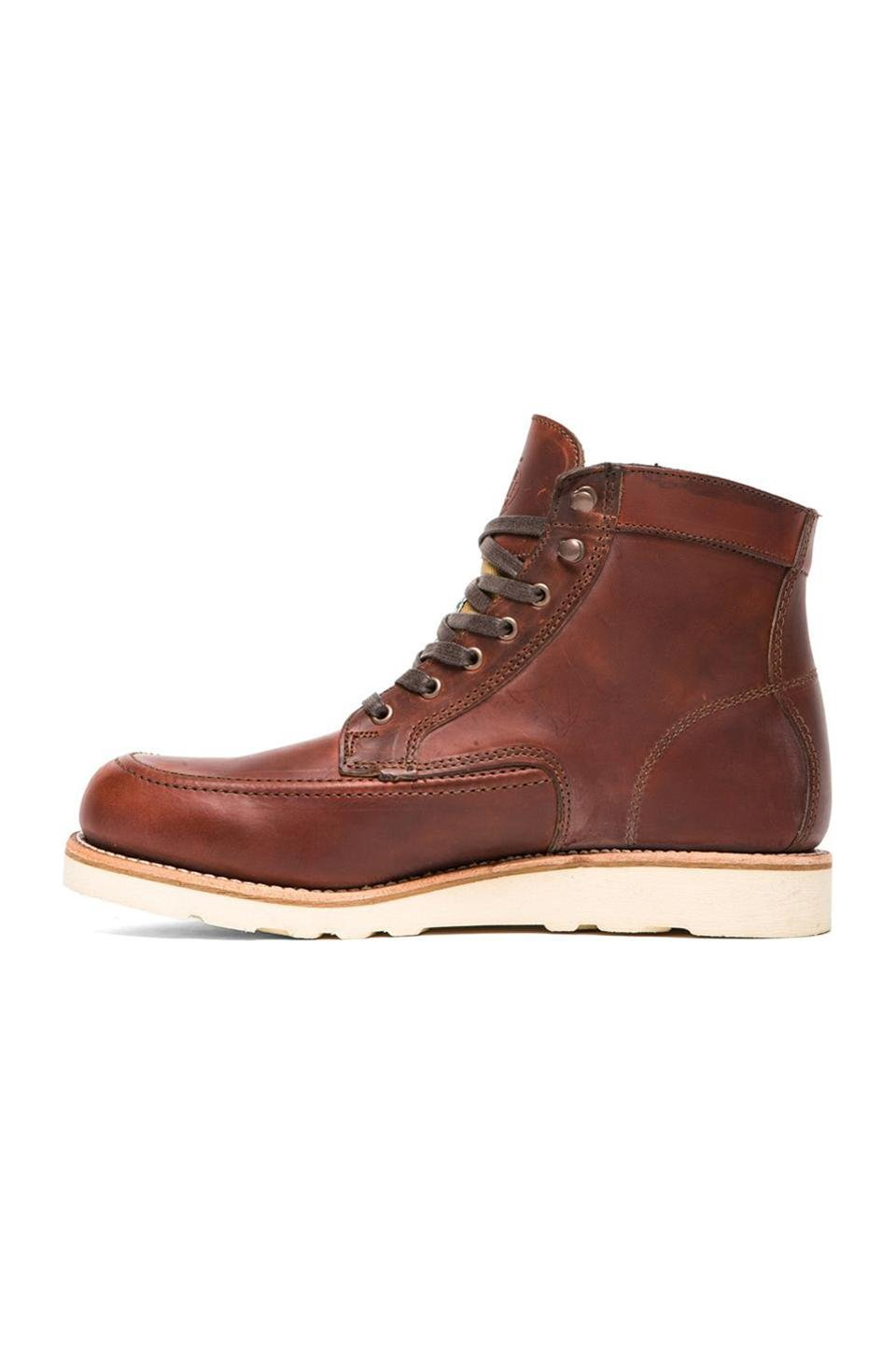 wolverine 1000 mile emerson boot in brown for lyst