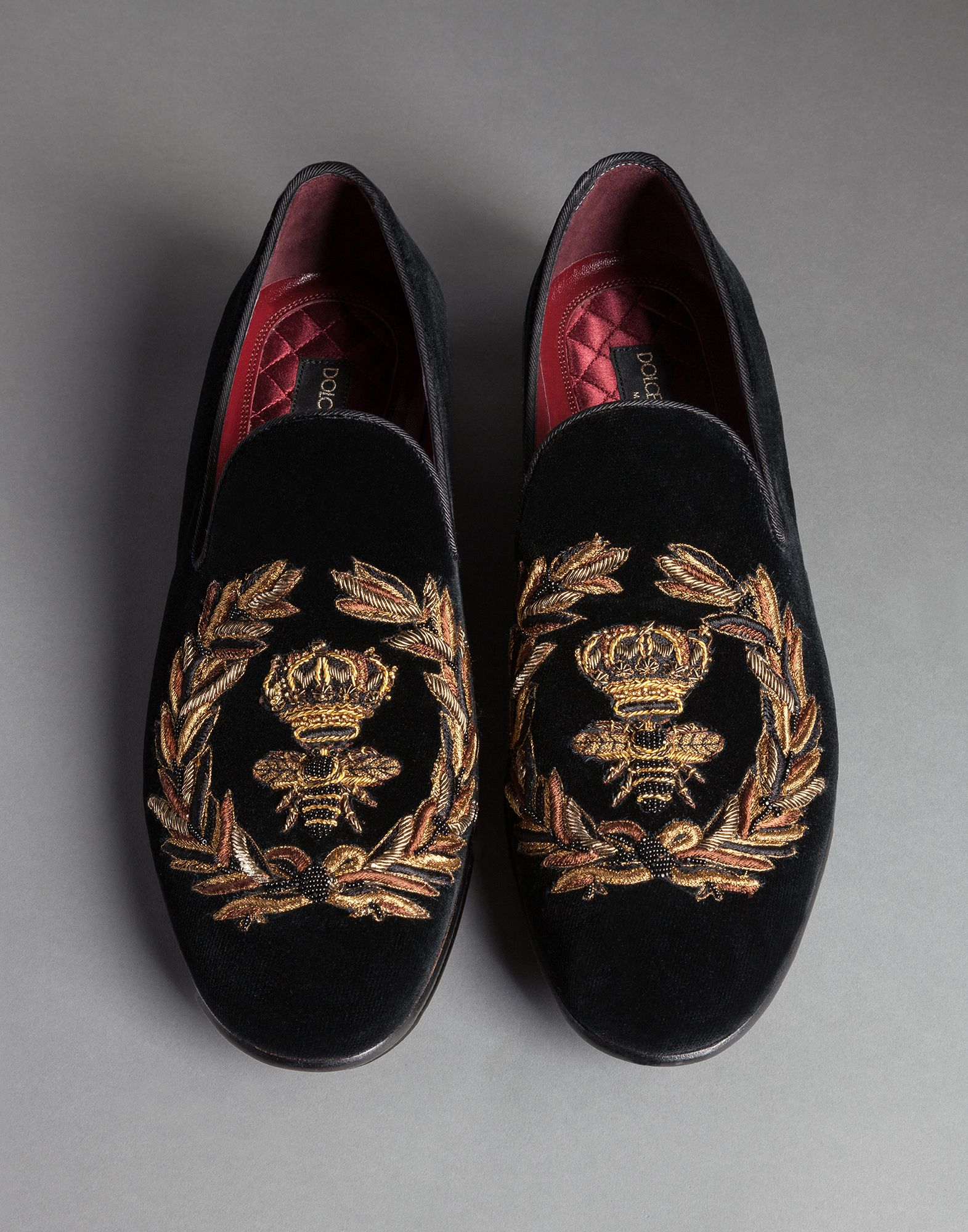 discount pre order free shipping find great Dolce & Gabbana Milano embroidered slippers QUOaXJ