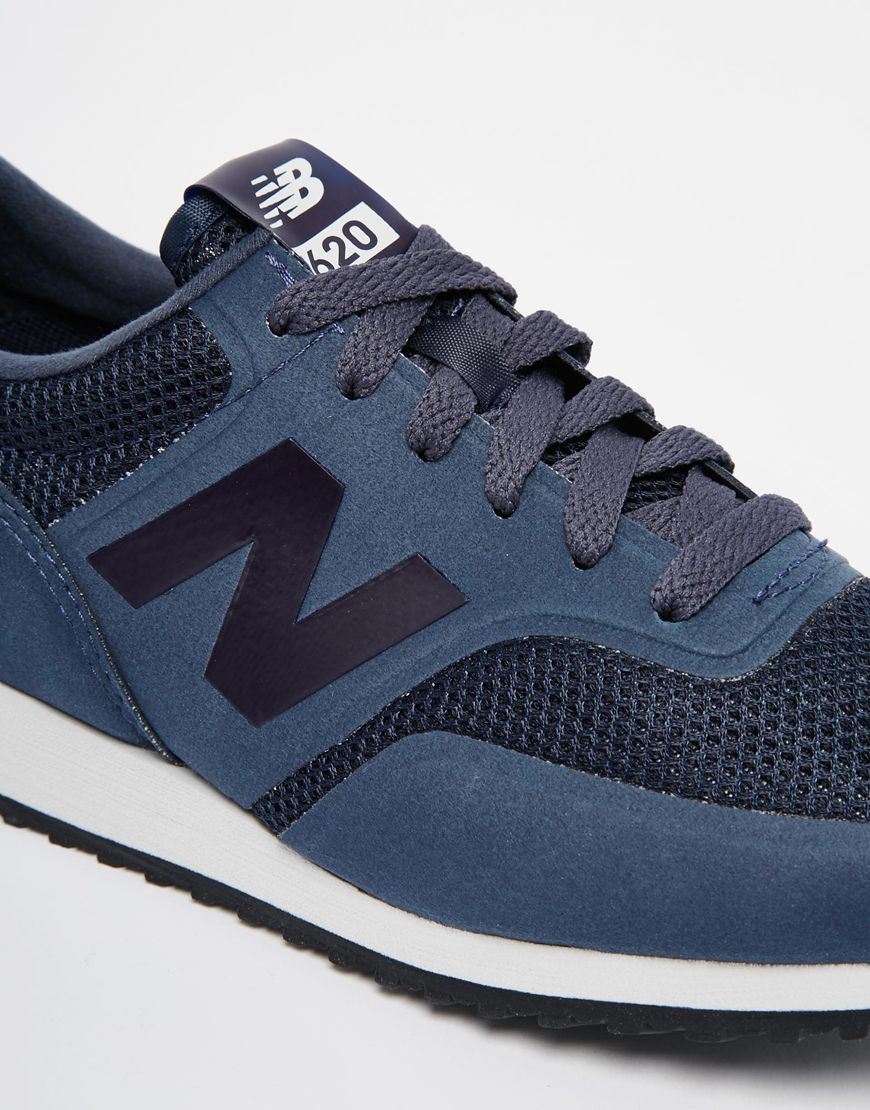 blue new balance trainers
