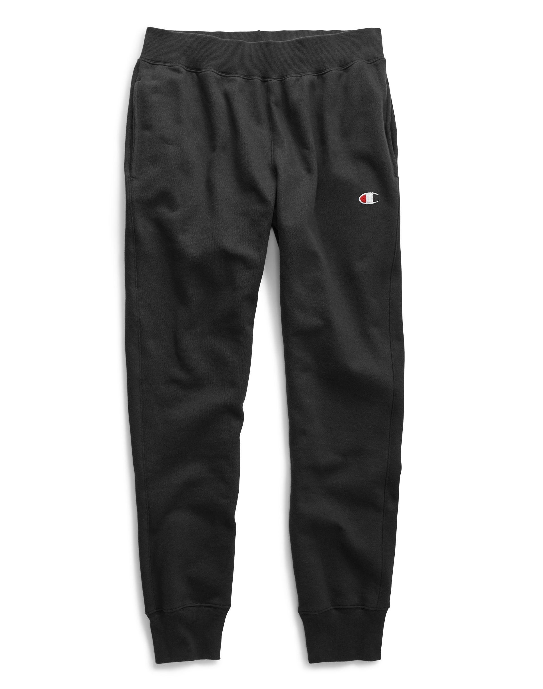 b78fa71e0451 Lyst - Champion Life® Reverse Weave® Trim Jogger Pants in Black for Men