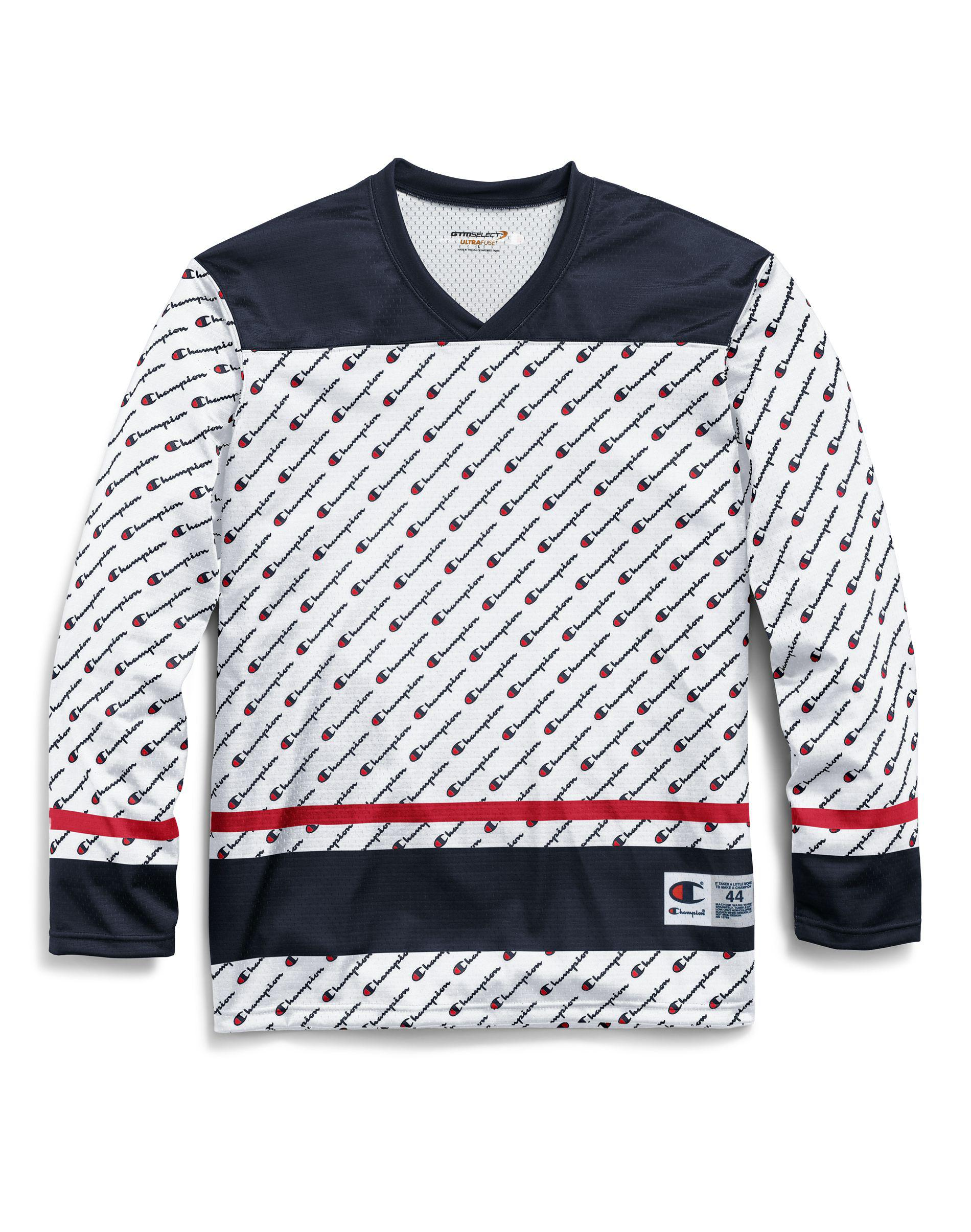 Champion - White Life® Printed Hockey Jersey for Men - Lyst. View fullscreen 53b4f4cb6