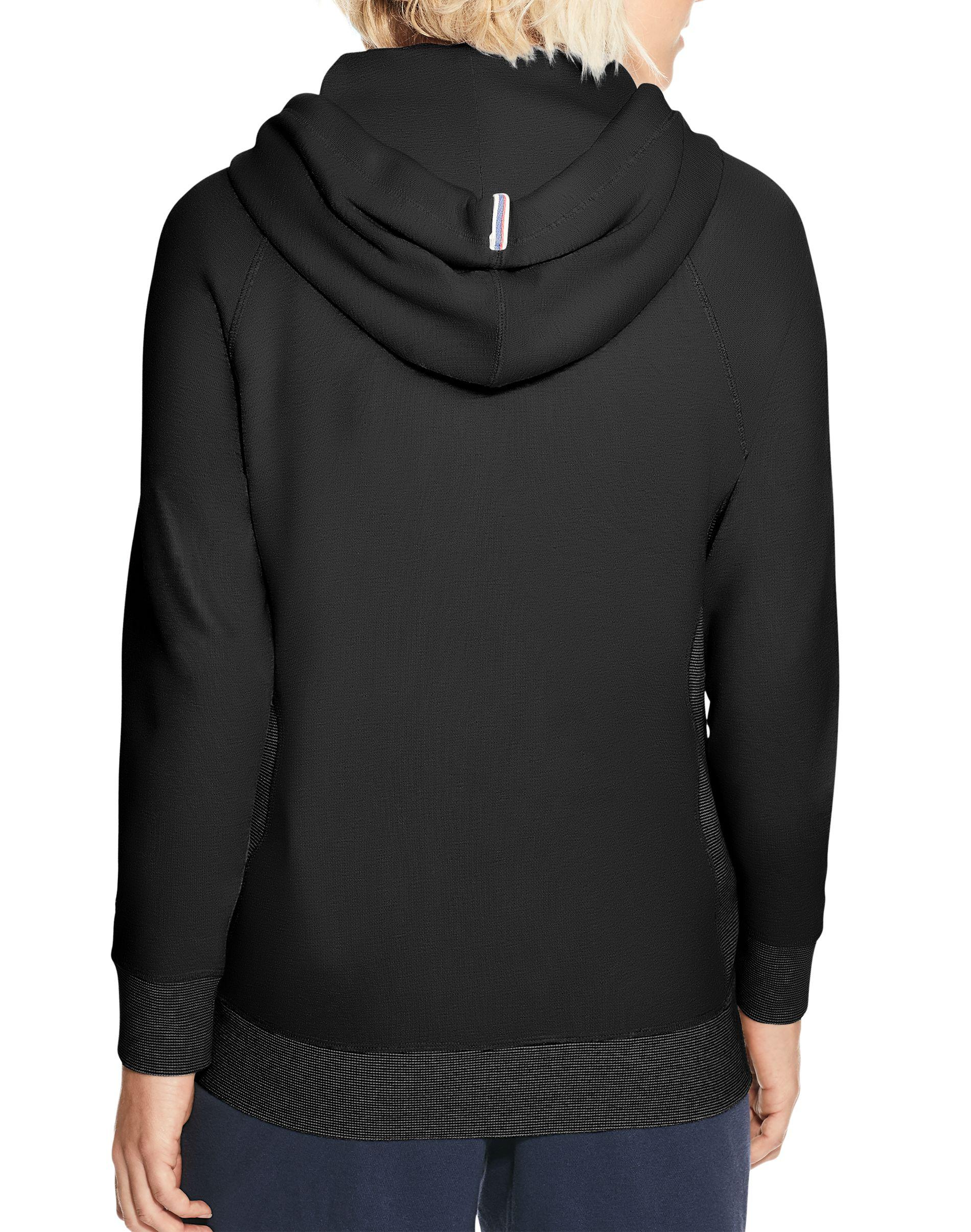 ab01da6e82c Champion Heritage French Terry Zip Hoodie, Script Logo in Black - Lyst