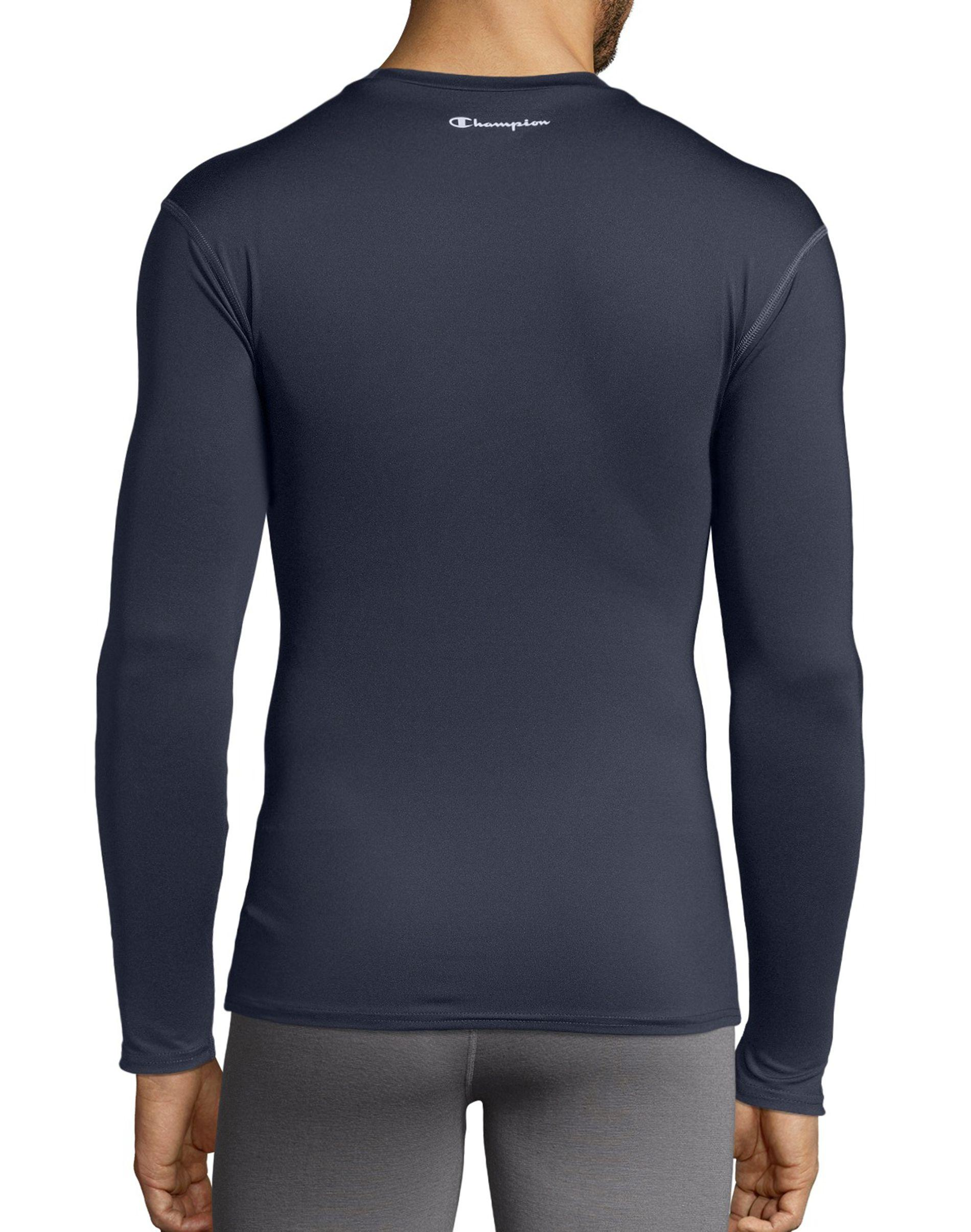 3e2e53673 Lyst - Champion Double Dry® Long-sleeve Compression T Shirt in Gray for Men