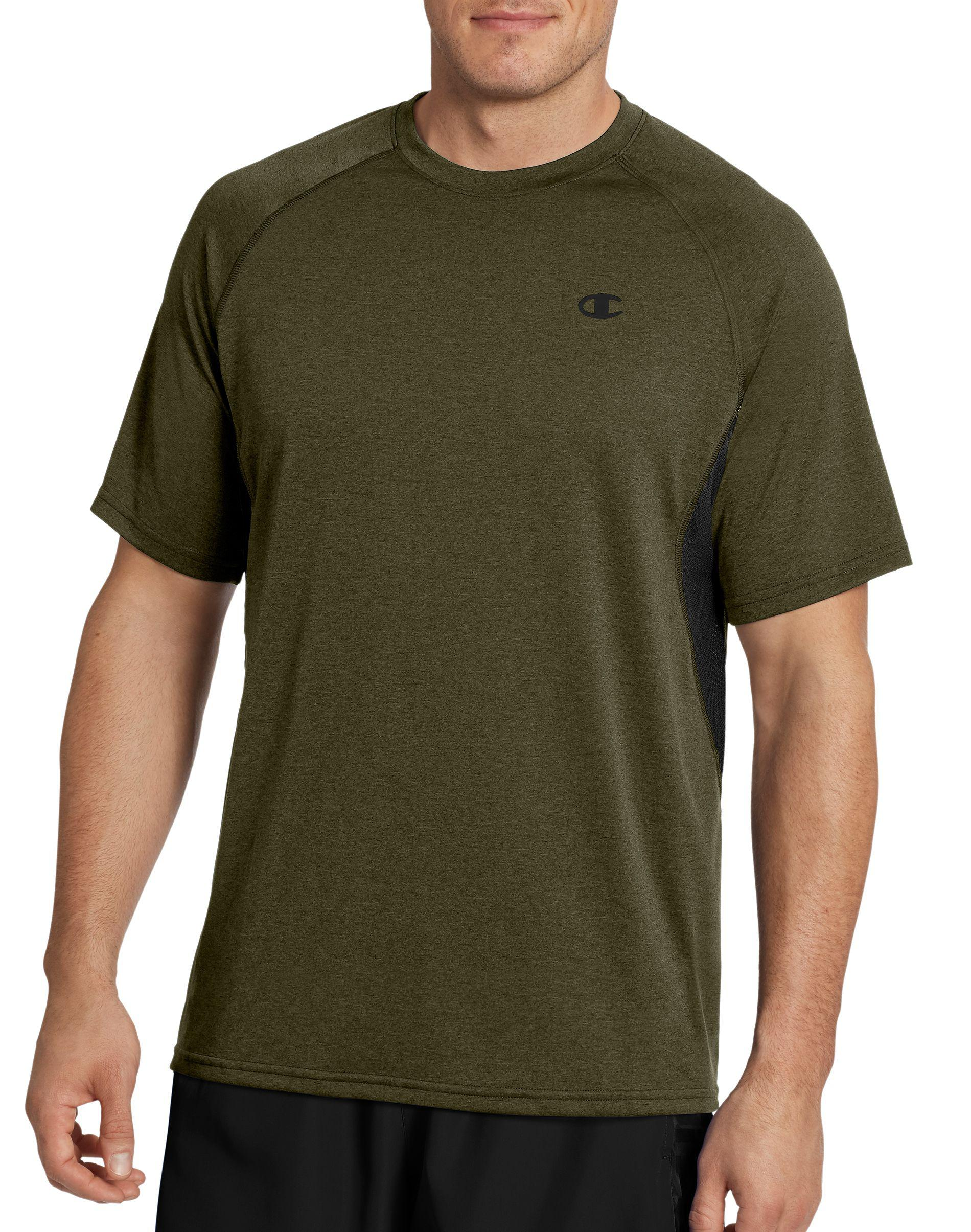 3a288cdb8 Lyst - Champion Vapor® Heather Tee With Side Vents in Green for Men
