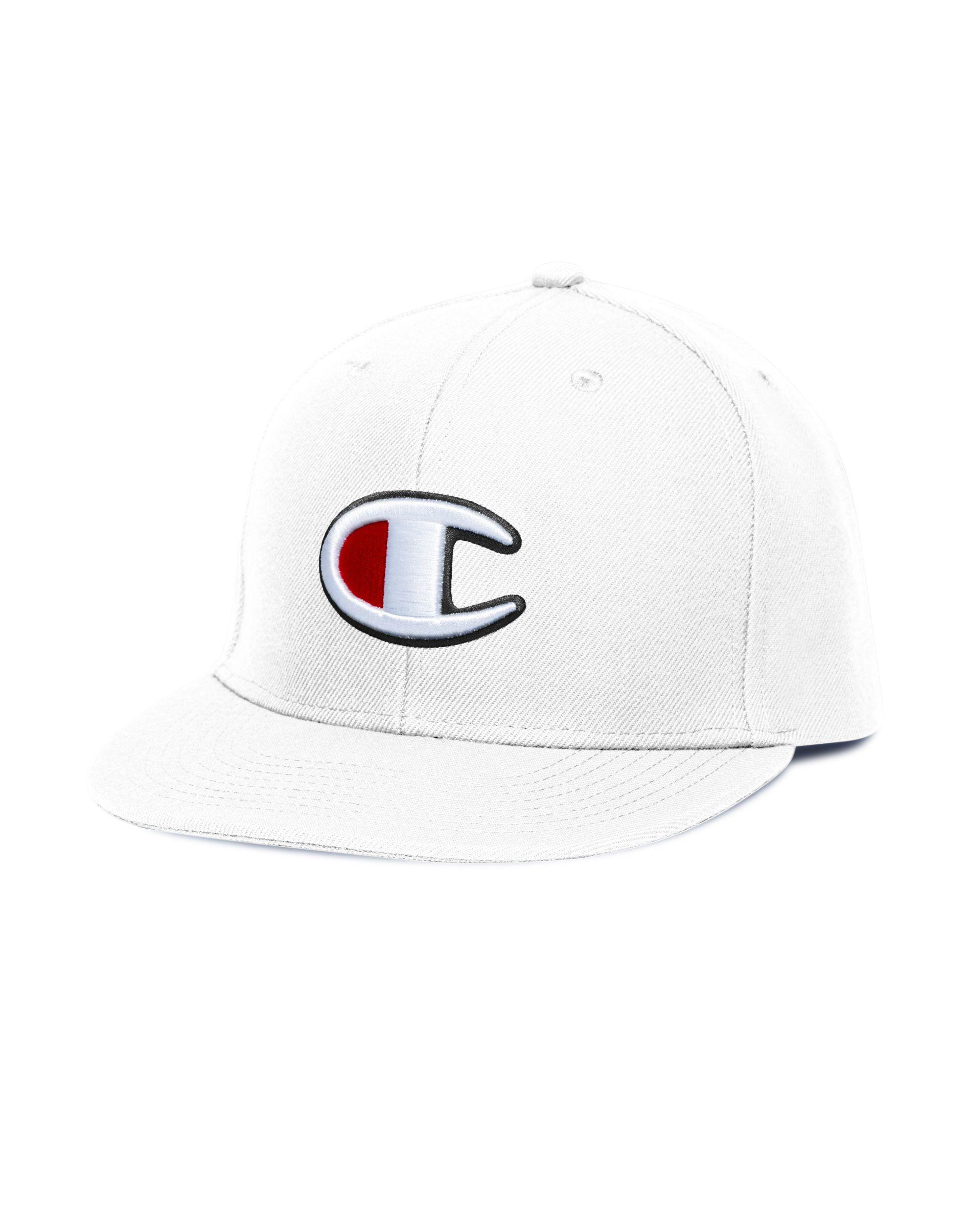 5aa99a7e492 Lyst - Champion Lifetm Snapback Big C Baseball Hat in White for Men