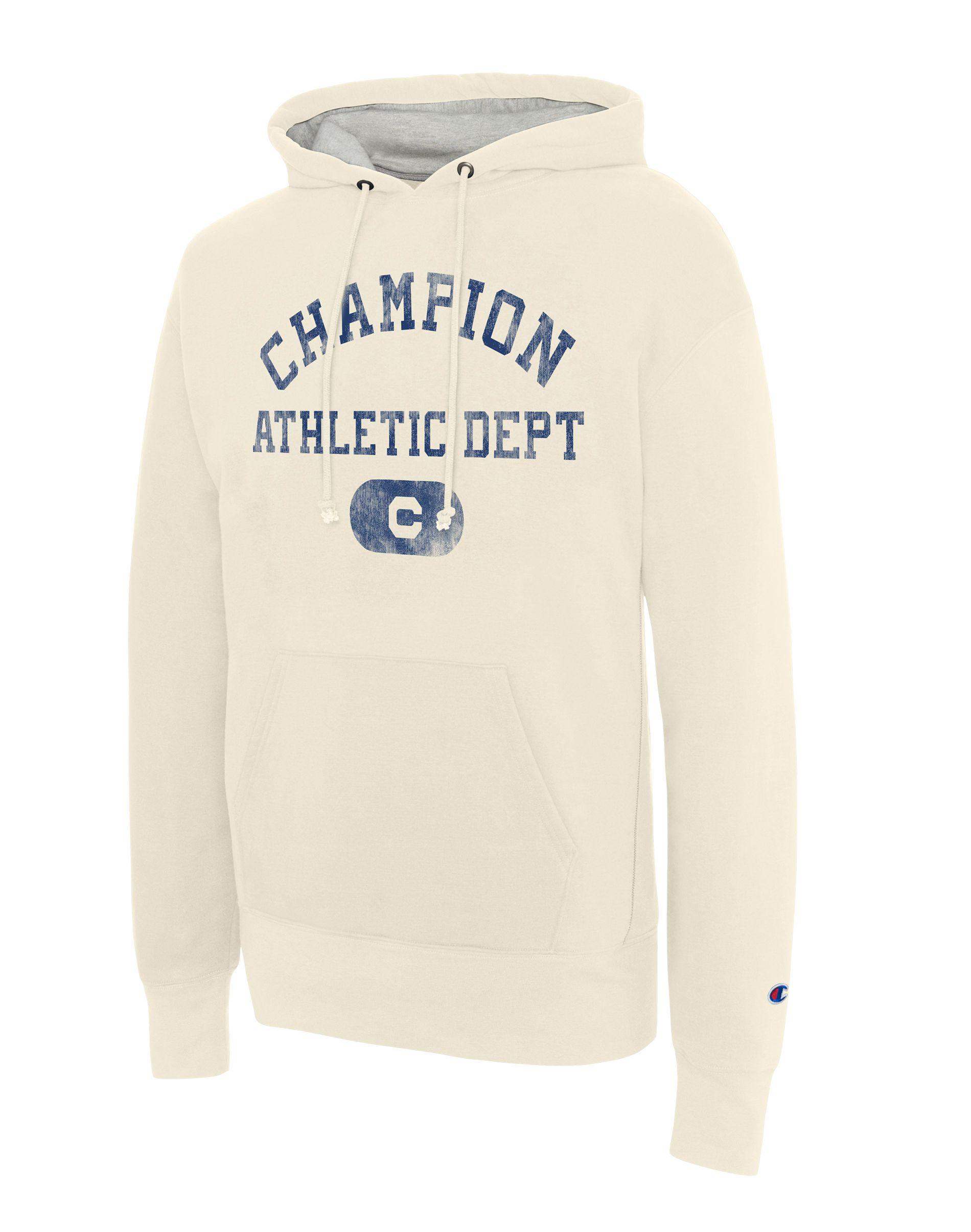 ca14838cc10e Lyst - Champion Heritage Big   Tall Pullover Hoodie in White for Men
