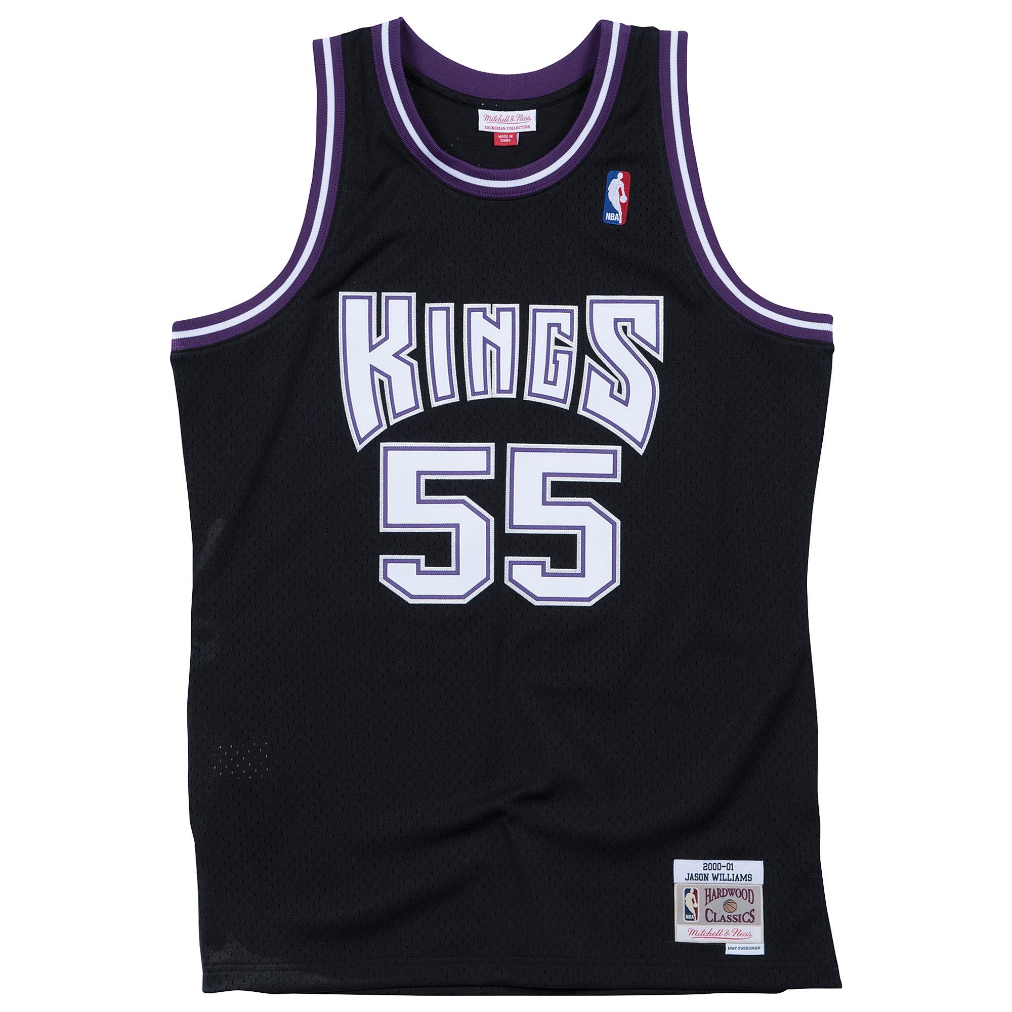 online store 60853 5ad9b Mitchell & Ness Jason Williams Nba Swingman Jersey in Black ...