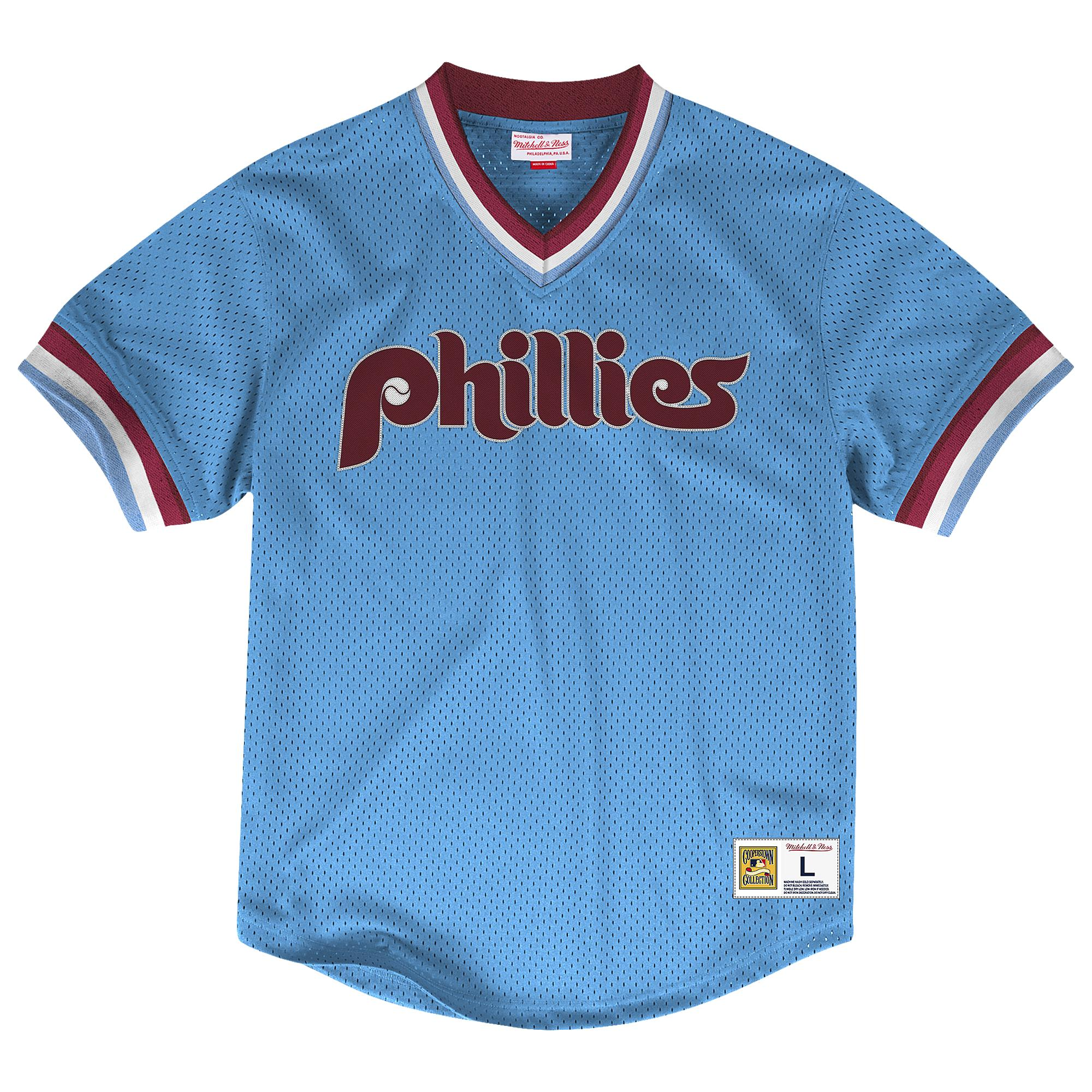 separation shoes 70357 0cb45 Mitchell & Ness Philadelphia Phillies Mlb Team Bp Jersey in ...