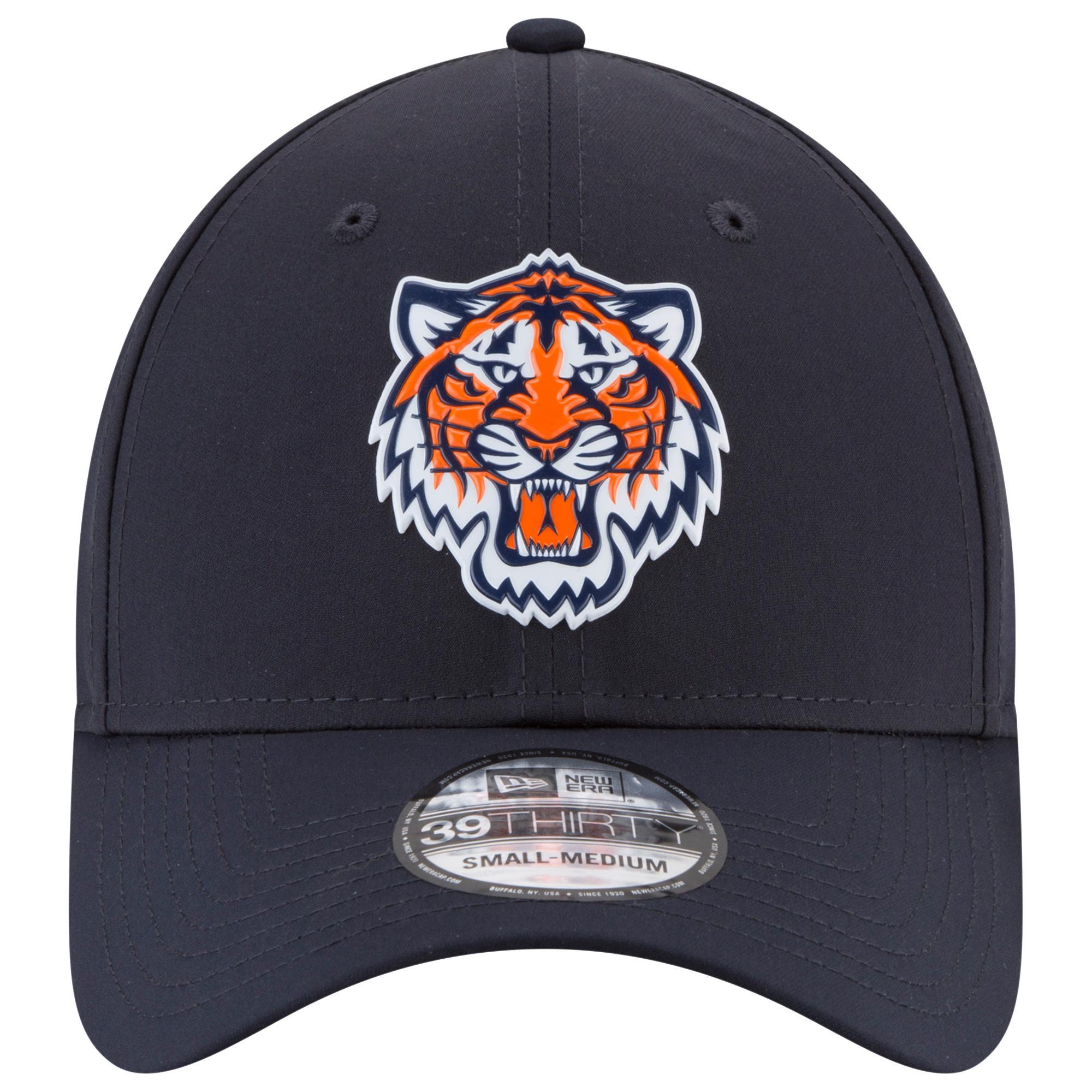 buy popular 0e6c9 220ad KTZ - Black Detroit Tigers Mlb 39thirty Batting Practice Cap for Men - Lyst.  View fullscreen