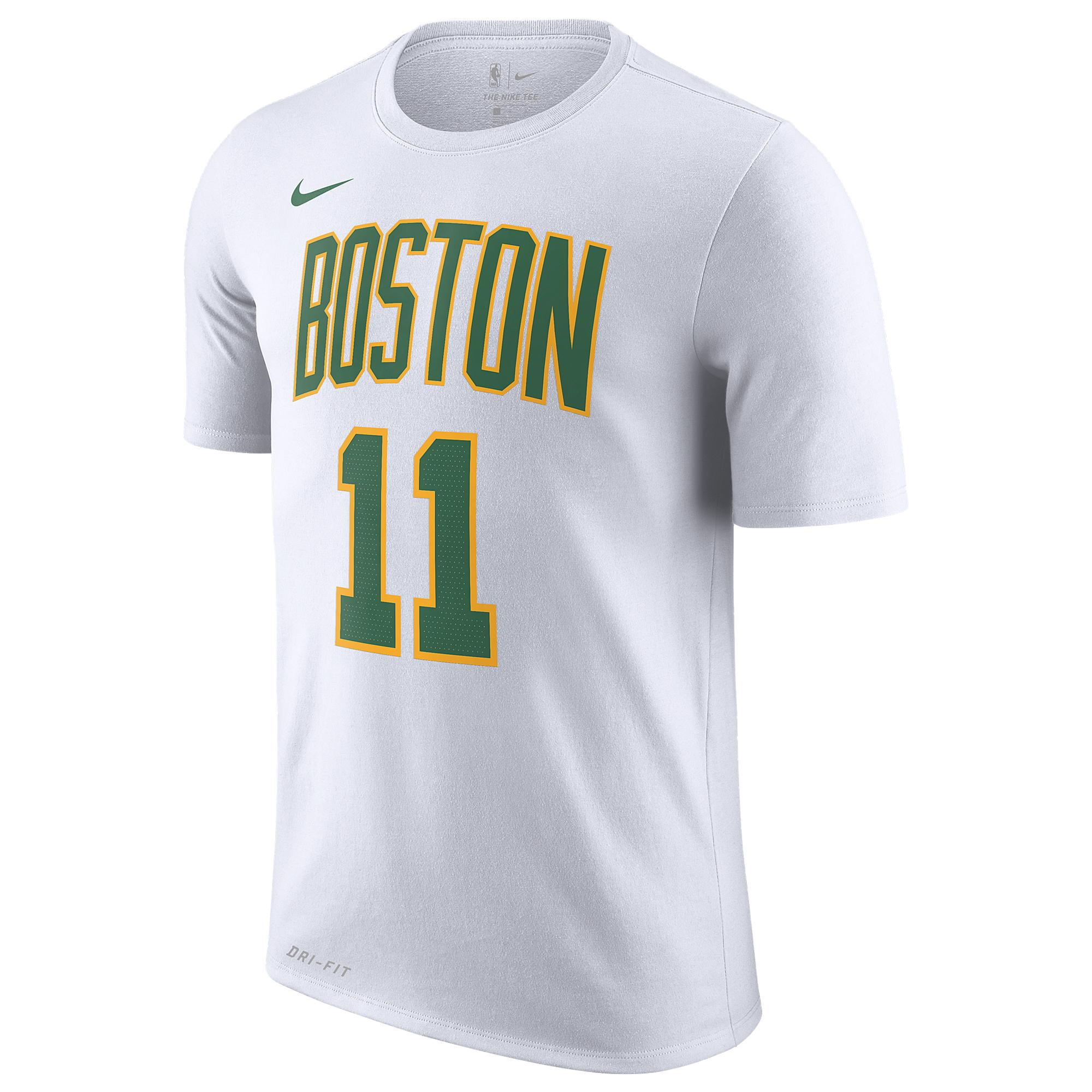 3ef844077d9 Nike Kyrie Irving Nba City Edition Name & Number T-shirt in White ...