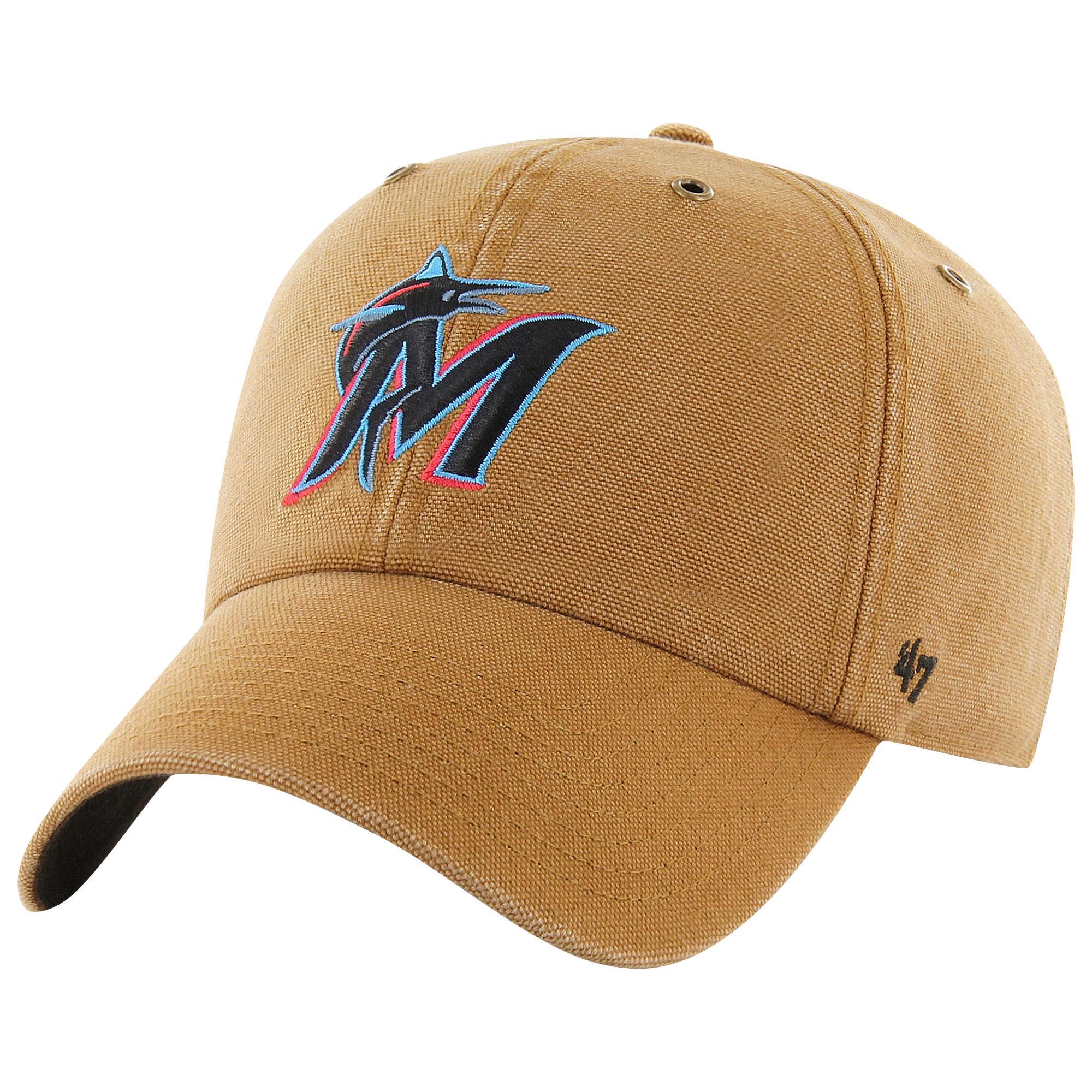 online store d13df ef1ae 47 Brand. Men s Miami Marlins Mlb X Carhartt Clean Up Cap