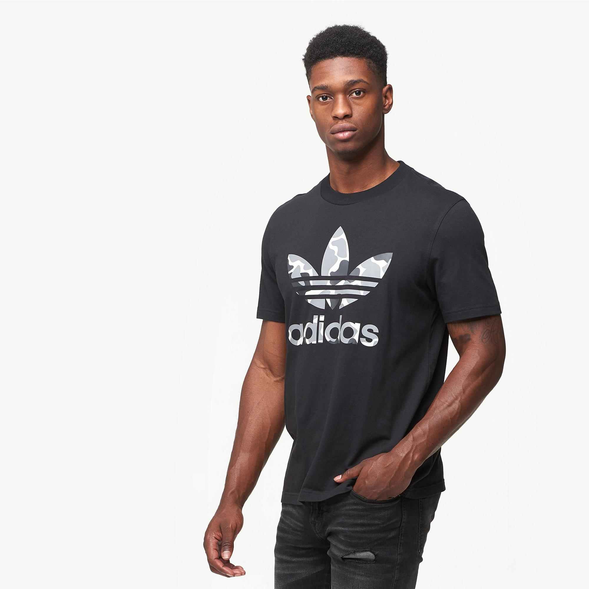 494e805b5 adidas Originals. Men's Black Camo Trefoil T-shirt. $40 $25 From Champs  Sports