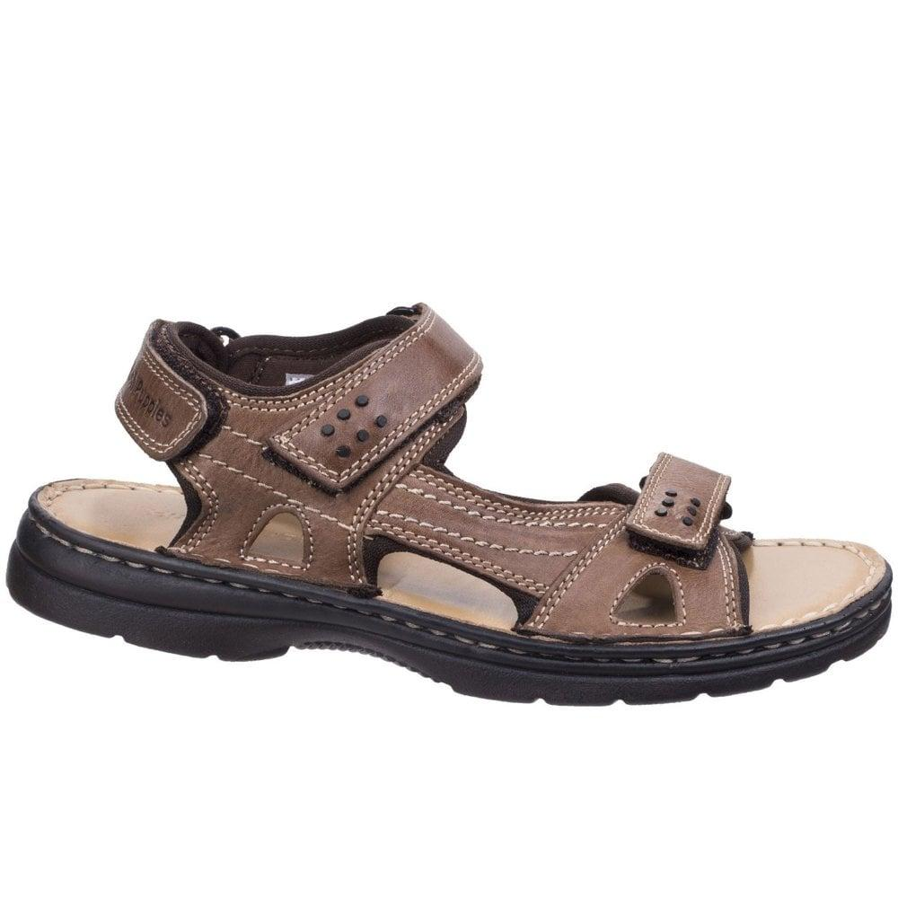 Hush Puppies Mens Mutt Toe Post Slip On Leather Casual Summer Sandals