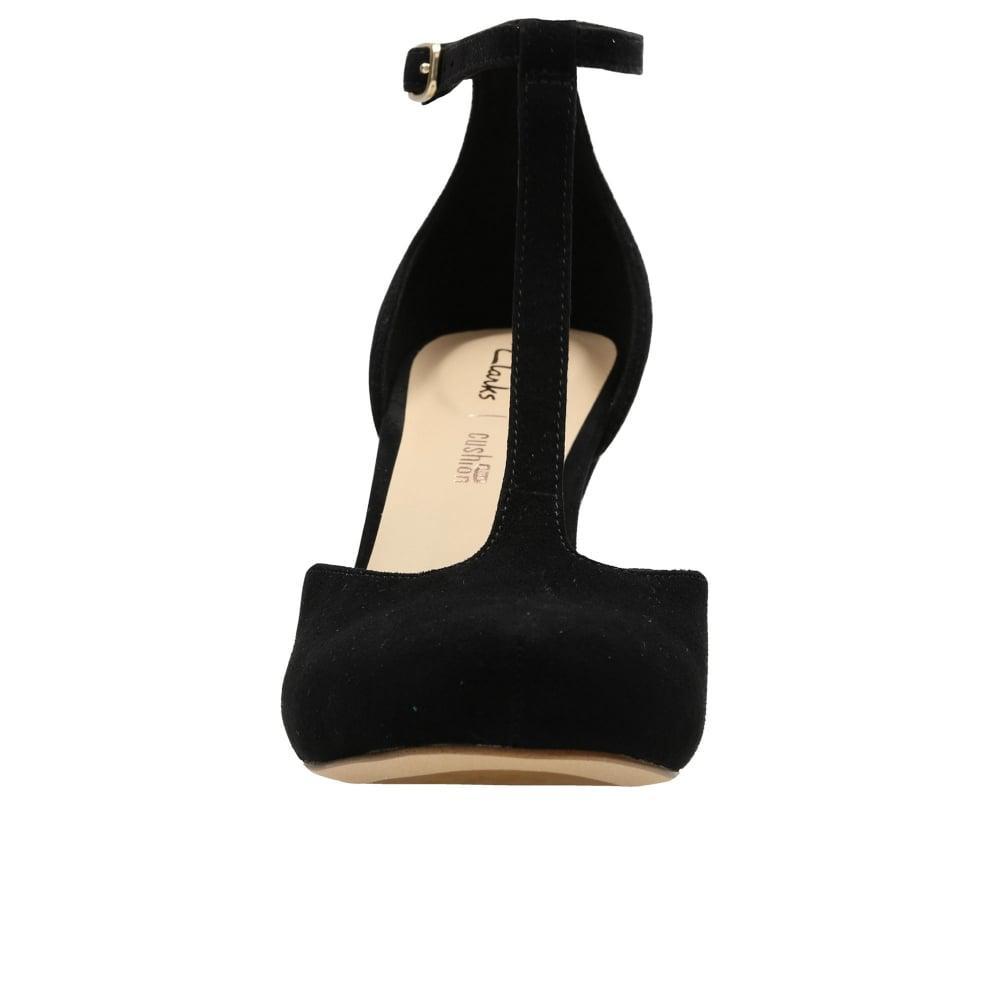 0e7e3b86cf4a Lyst - Clarks Dalia Tulip Womens T-bar Heels in Black