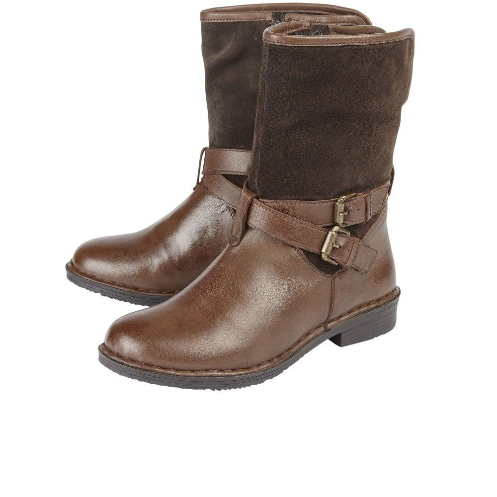 9973f0a27 Lotus - Brown Gallatin Womens Ankle Boots - Lyst. View fullscreen