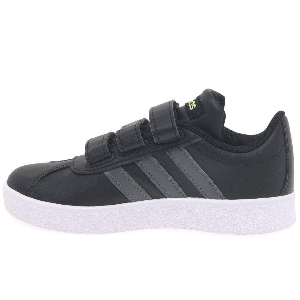 Adidas Black Vl Court 2 Kids Riptape Trainers for Men Lyst