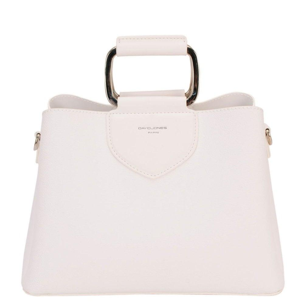 582fa00e5 David Jones Carousel Womens Grab Bag in White - Lyst