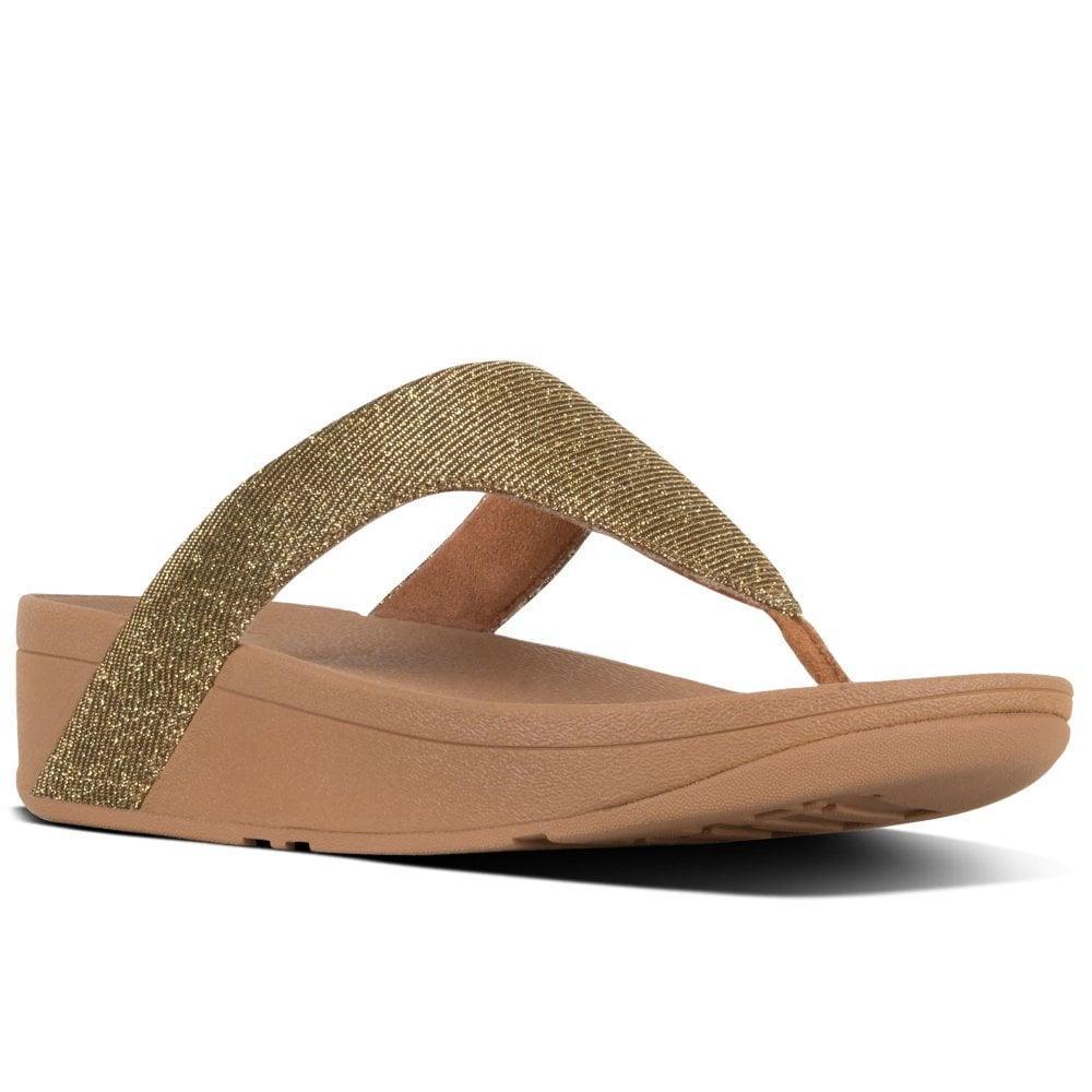 e002f4e65d90 Fitflop - Multicolor Lottie Glitzy Womens Toe Post Sandals - Lyst. View  fullscreen