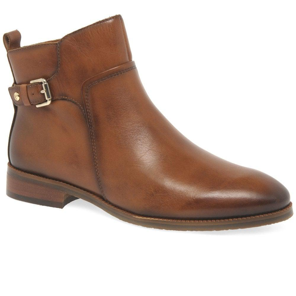 2edb363b Lyst - Pikolinos Royal Womens Equestrian Zip Ankle Boots in Brown