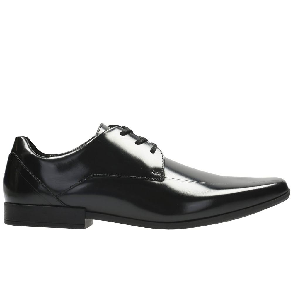 34147e88d3c02 Clarks Glement Over Mens Formal Lace Up Shoes in Black for Men - Lyst